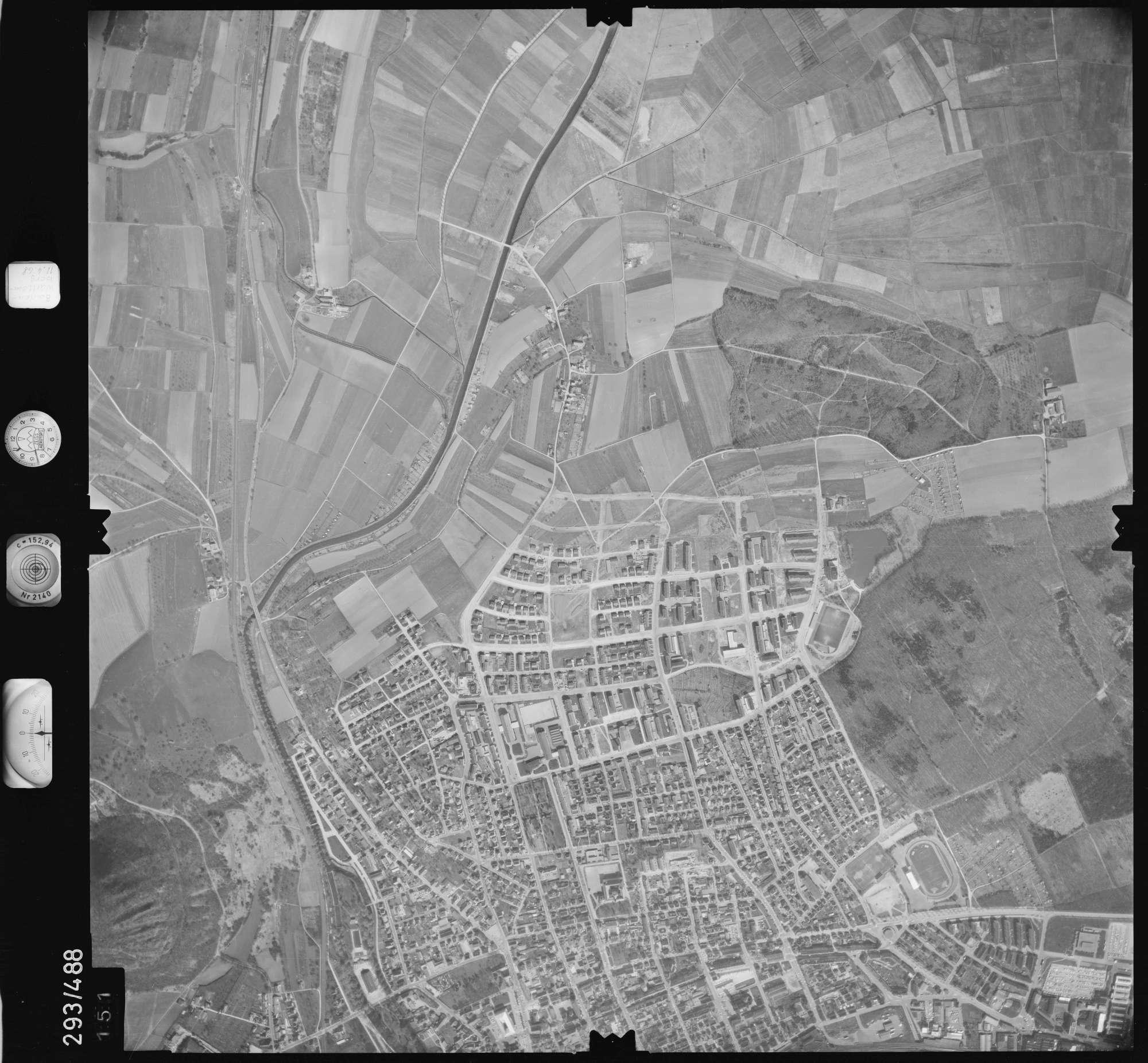Luftbild: Film 43 Bildnr. 151, Bild 1
