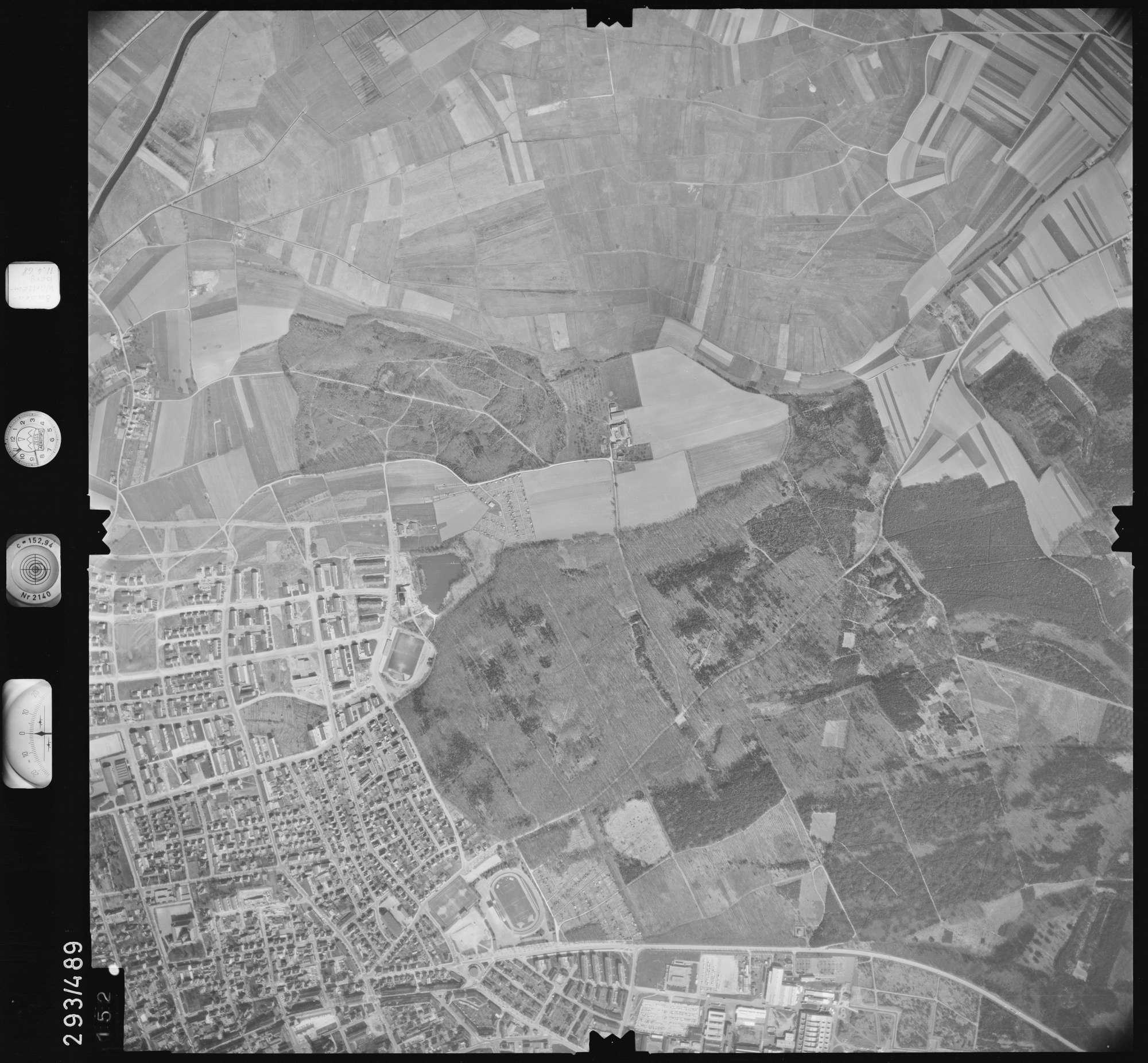 Luftbild: Film 43 Bildnr. 152, Bild 1