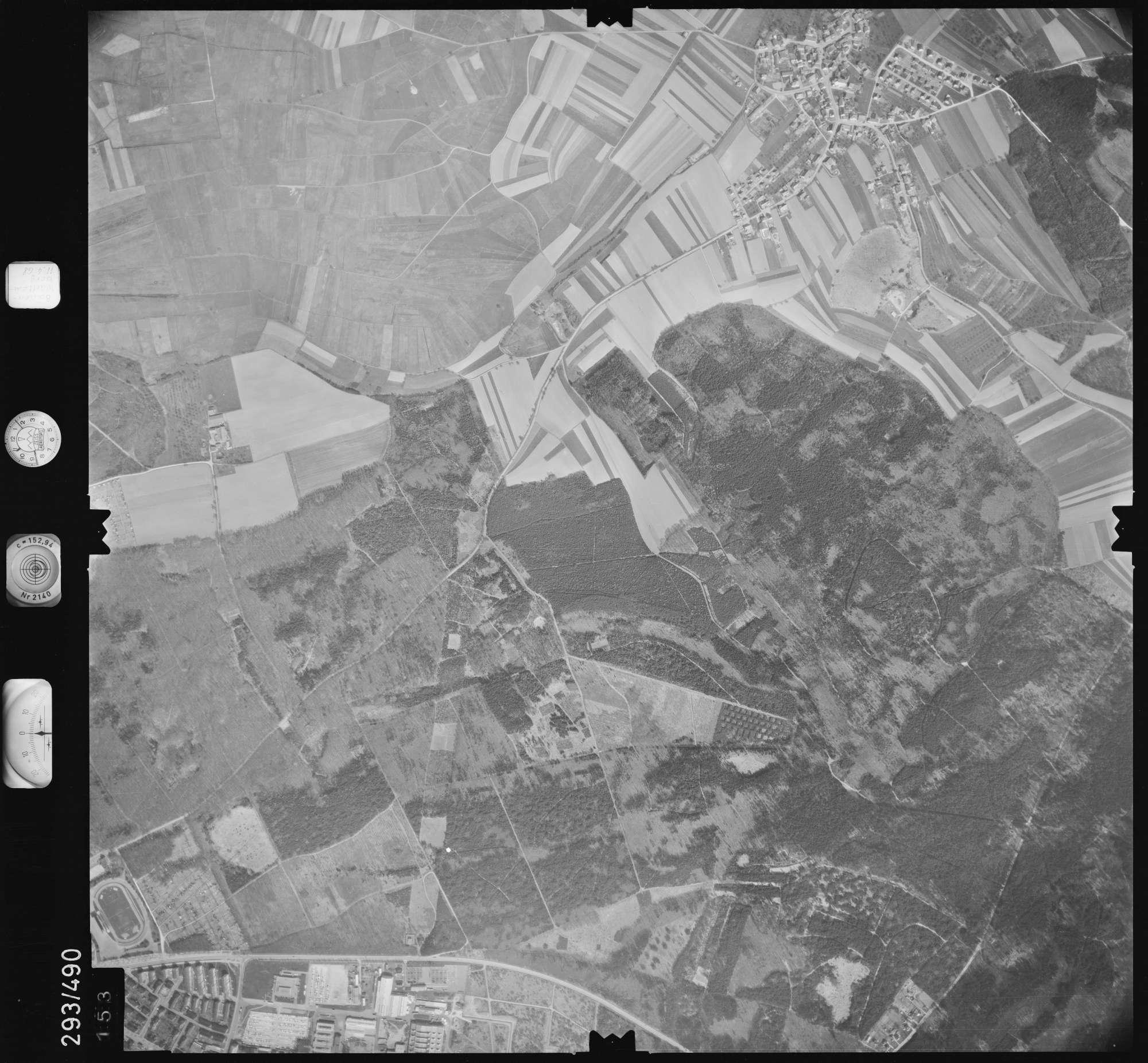 Luftbild: Film 43 Bildnr. 153, Bild 1
