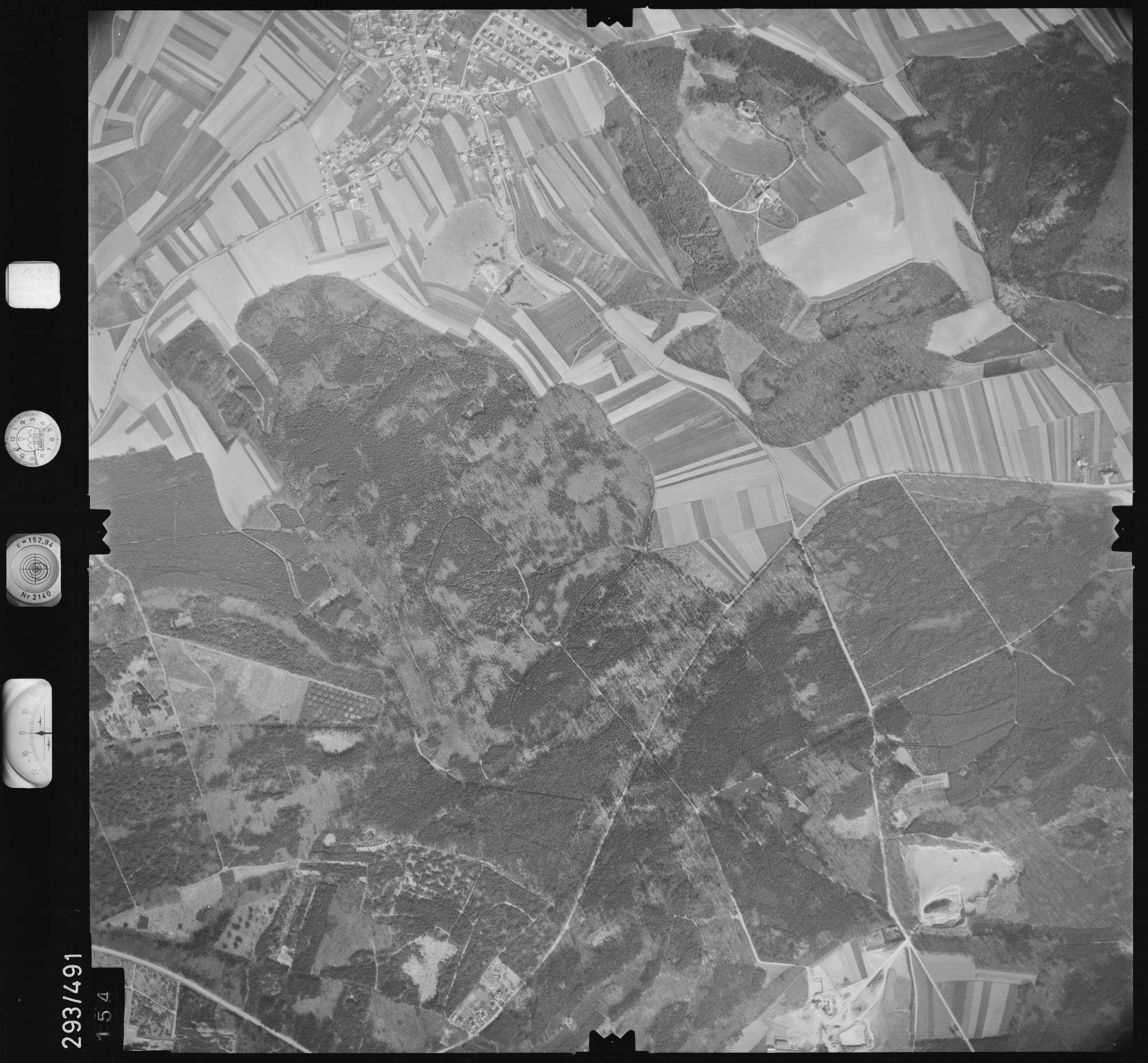 Luftbild: Film 43 Bildnr. 154, Bild 1