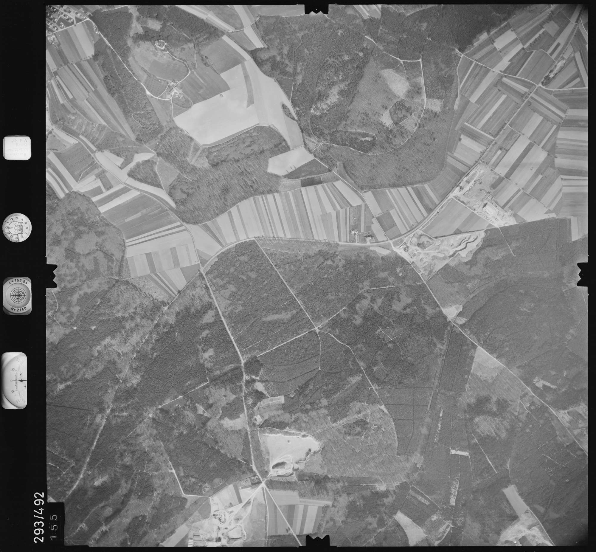 Luftbild: Film 43 Bildnr. 155, Bild 1