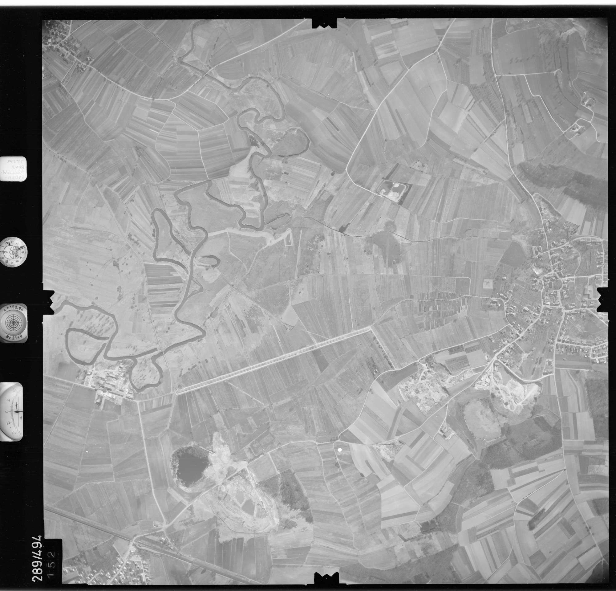 Luftbild: Film 78 Bildnr. 152, Bild 1