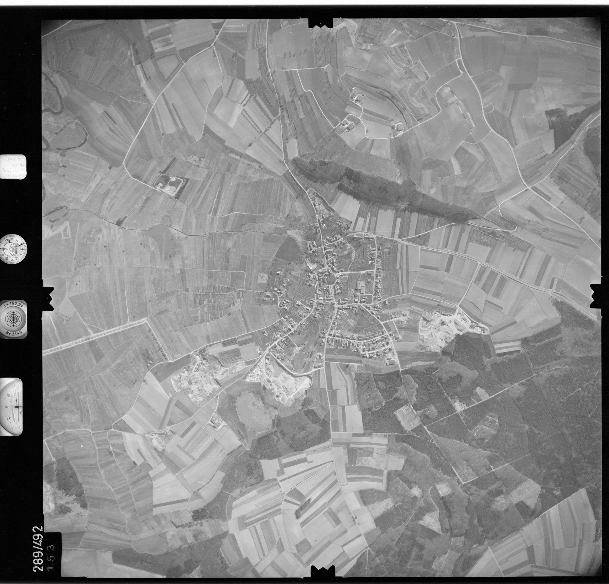 Luftbild: Film 78 Bildnr. 153, Bild 1