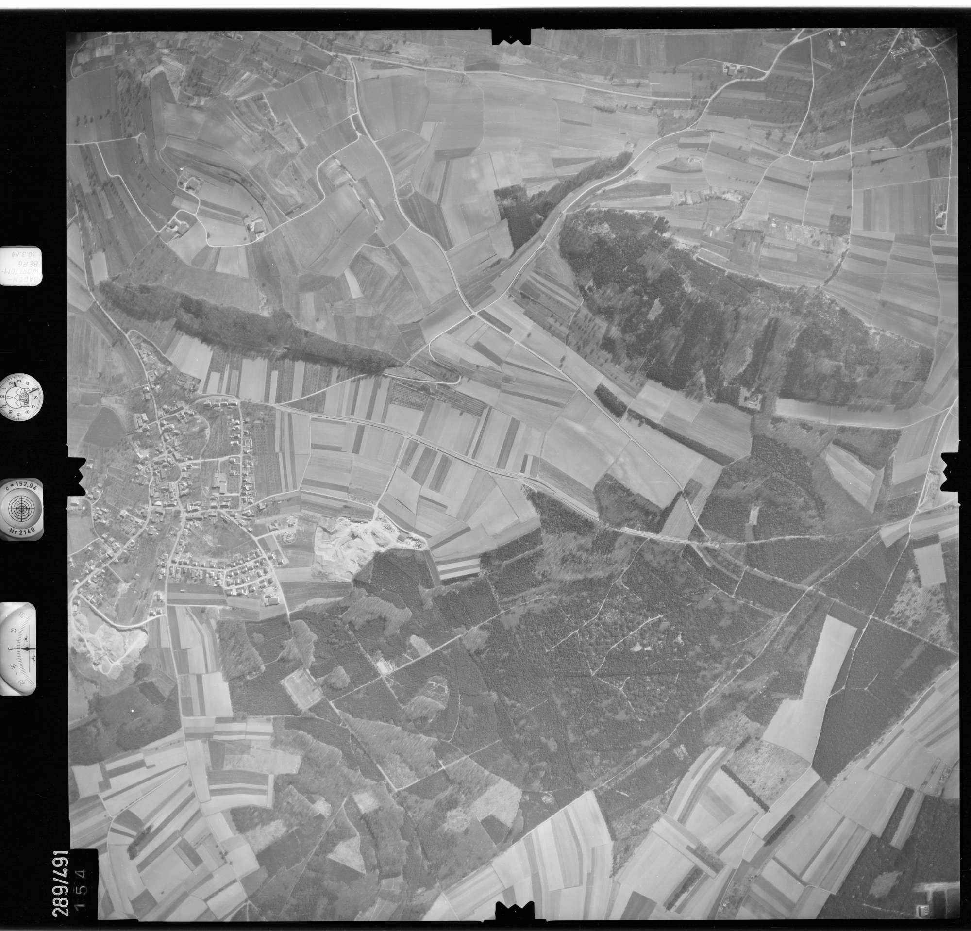 Luftbild: Film 78 Bildnr. 154, Bild 1