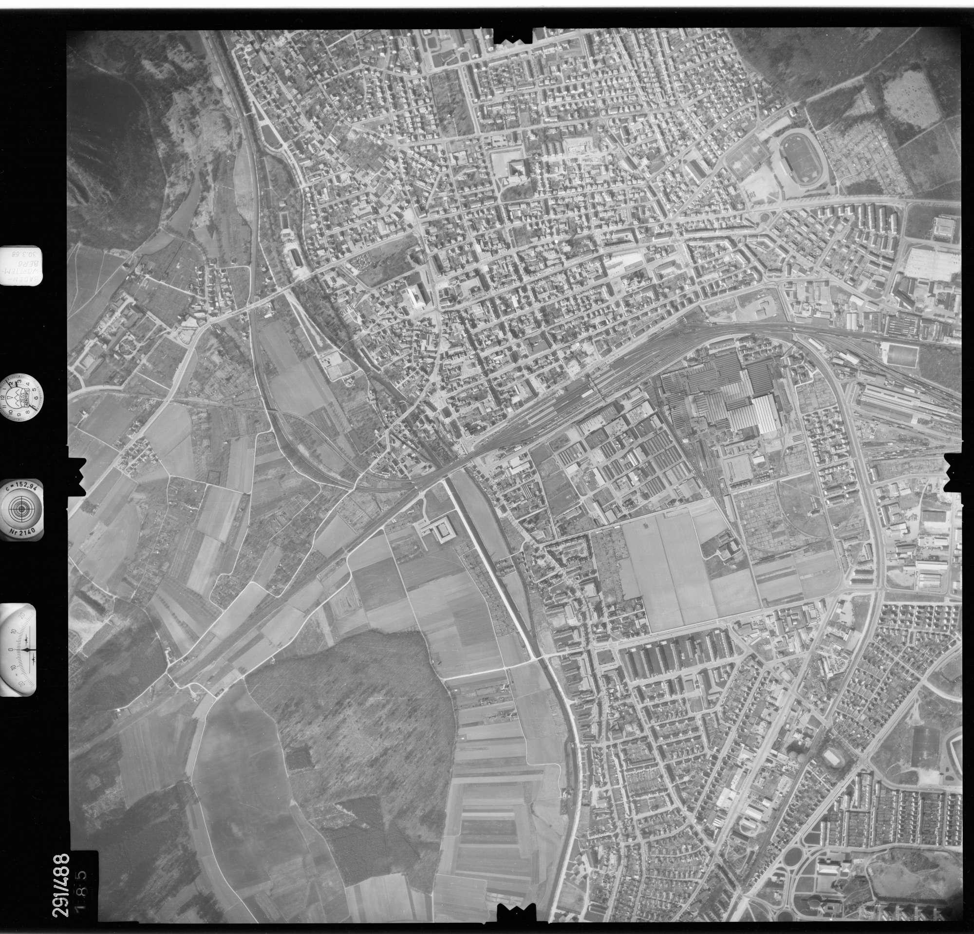 Luftbild: Film 78 Bildnr. 185, Bild 1