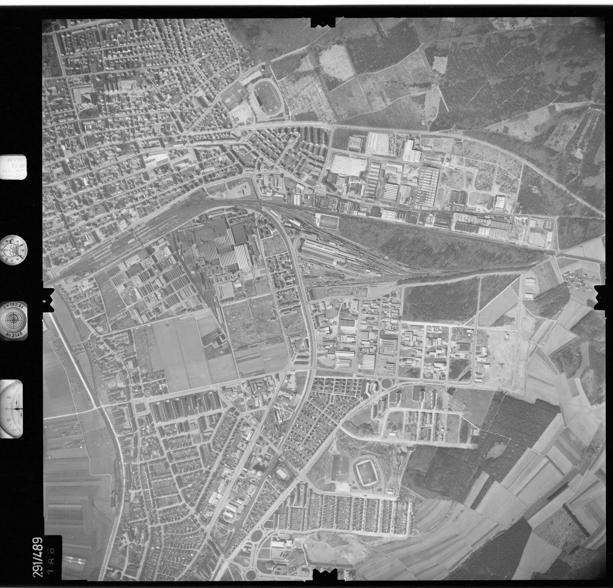 Luftbild: Film 78 Bildnr. 186, Bild 1