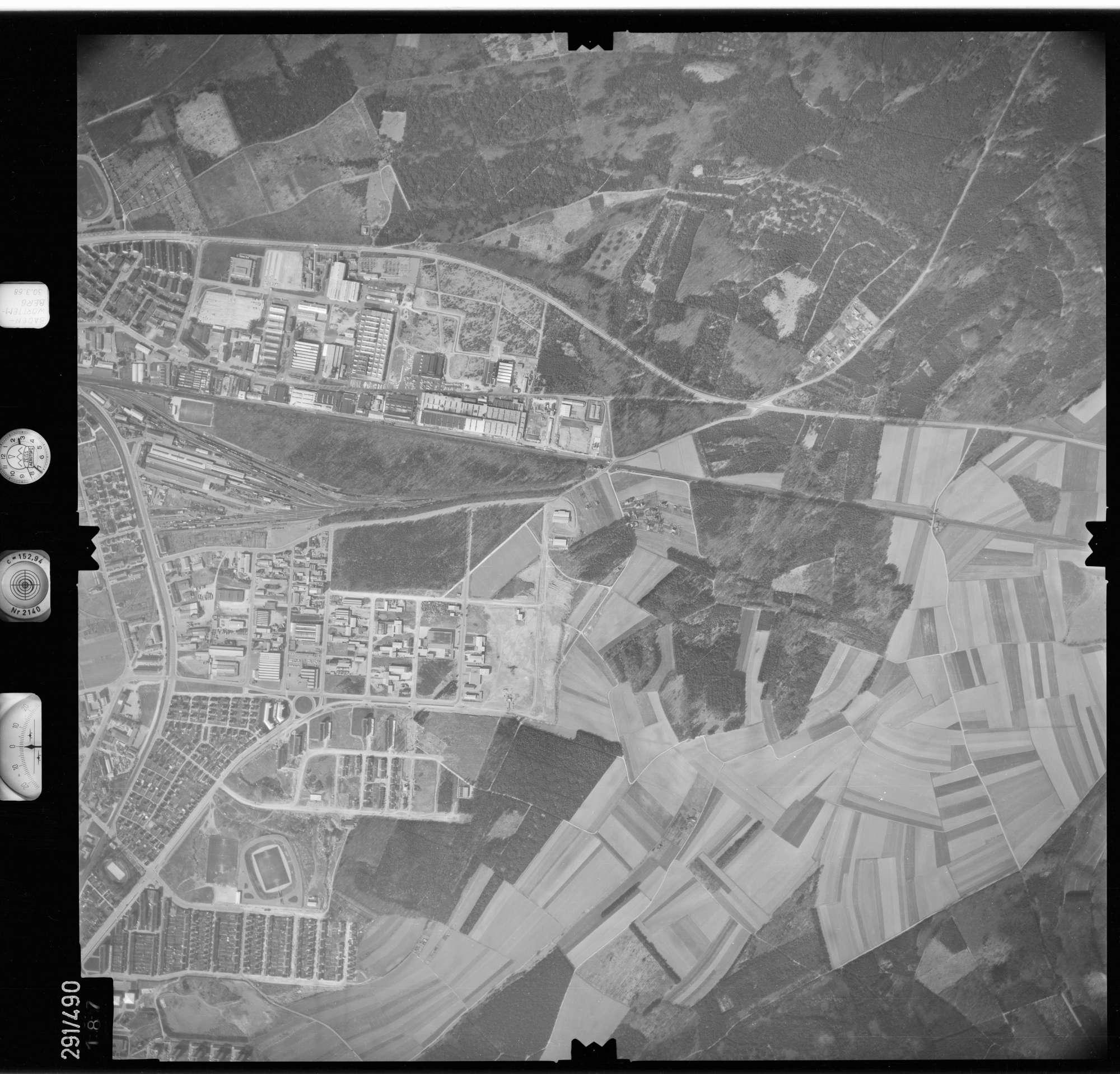 Luftbild: Film 78 Bildnr. 187, Bild 1