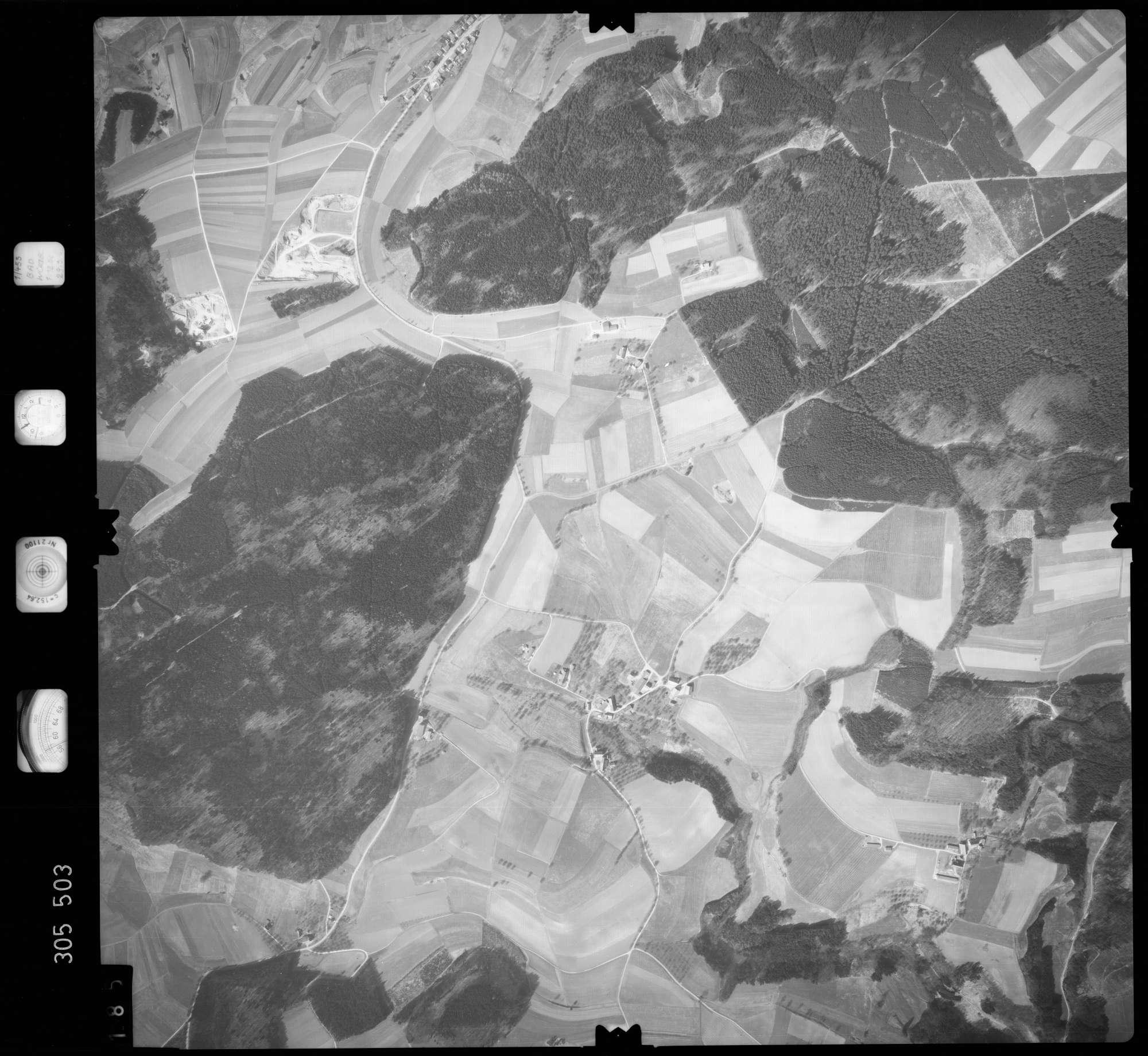 Luftbild: Film 61 Bildnr. 185, Bild 1