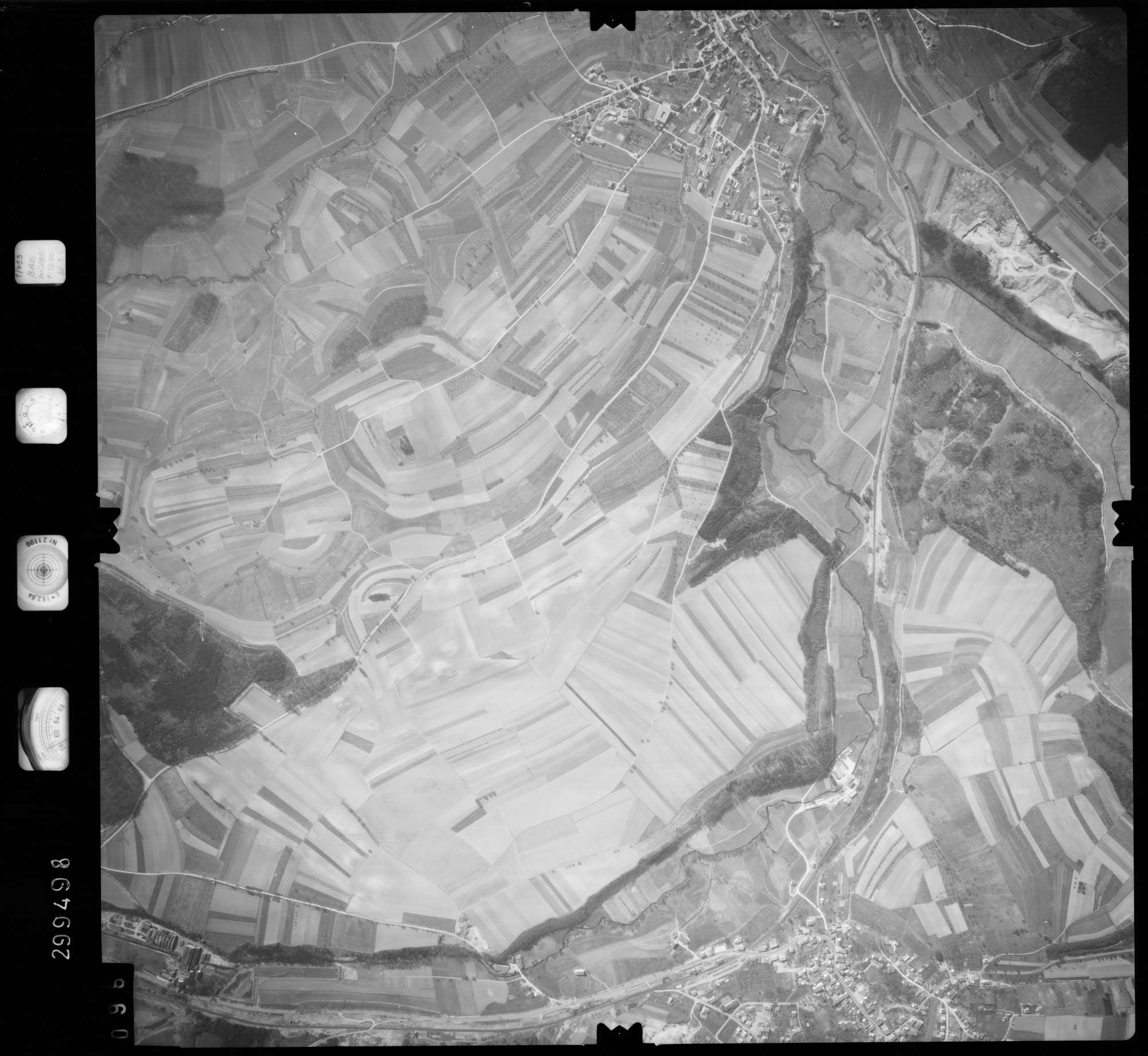 Luftbild: Film 66 Bildnr. 96, Bild 1