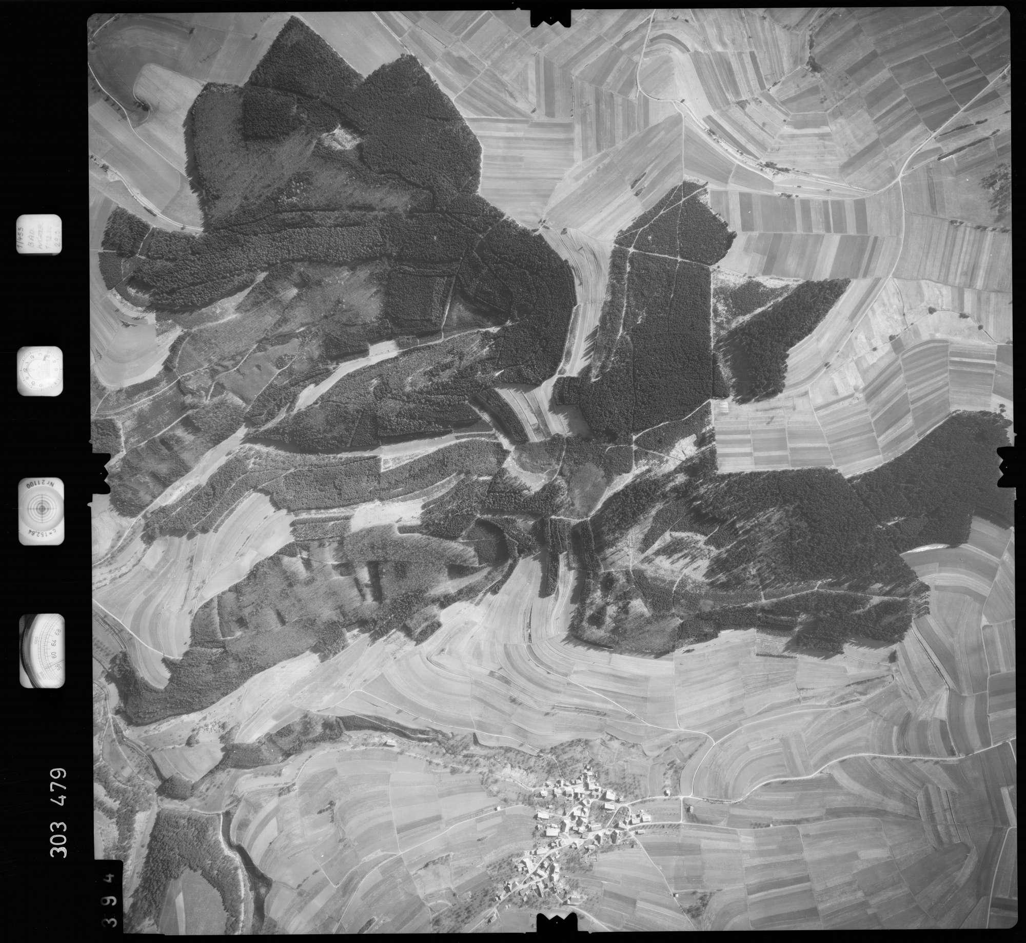 Luftbild: Film 64 Bildnr. 394, Bild 1