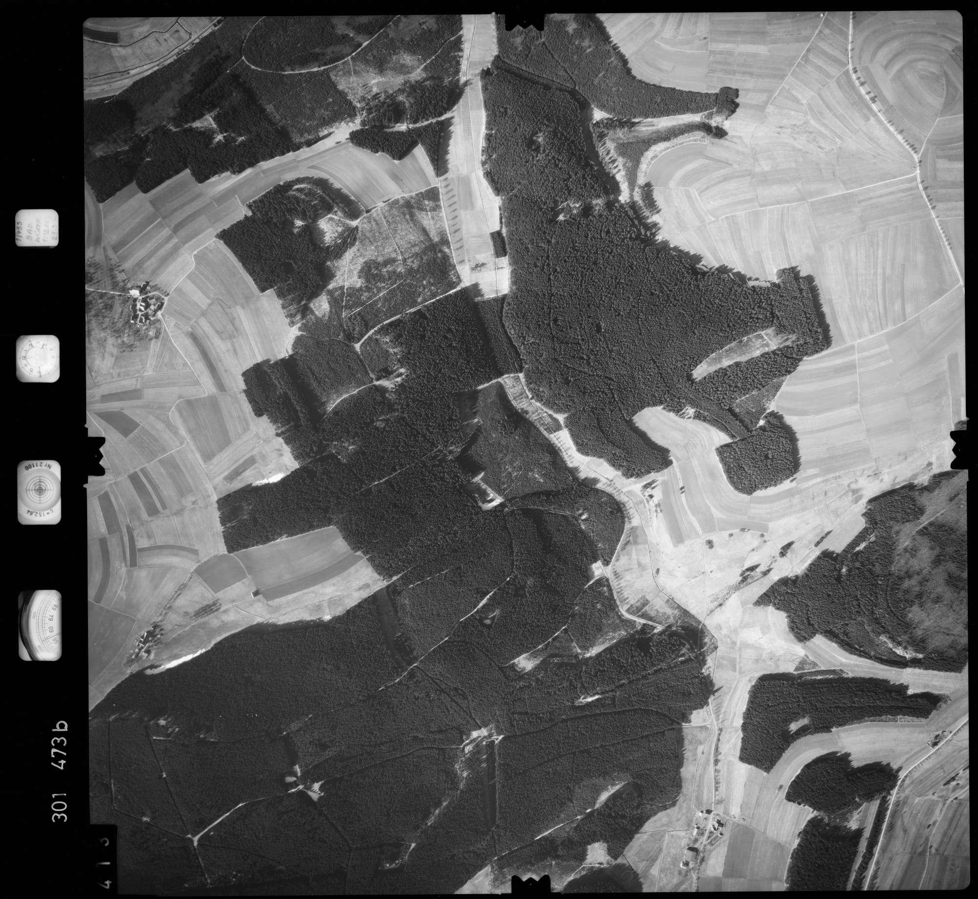 Luftbild: Film 64 Bildnr. 413, Bild 1