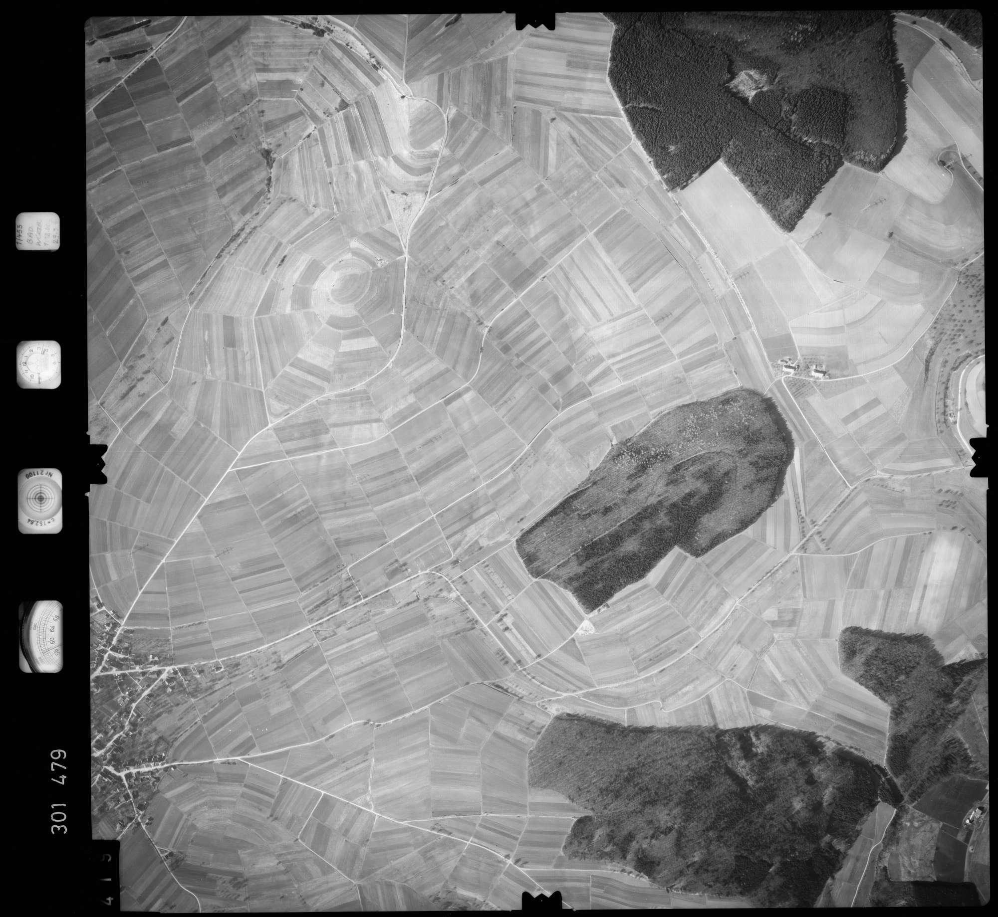 Luftbild: Film 64 Bildnr. 419, Bild 1