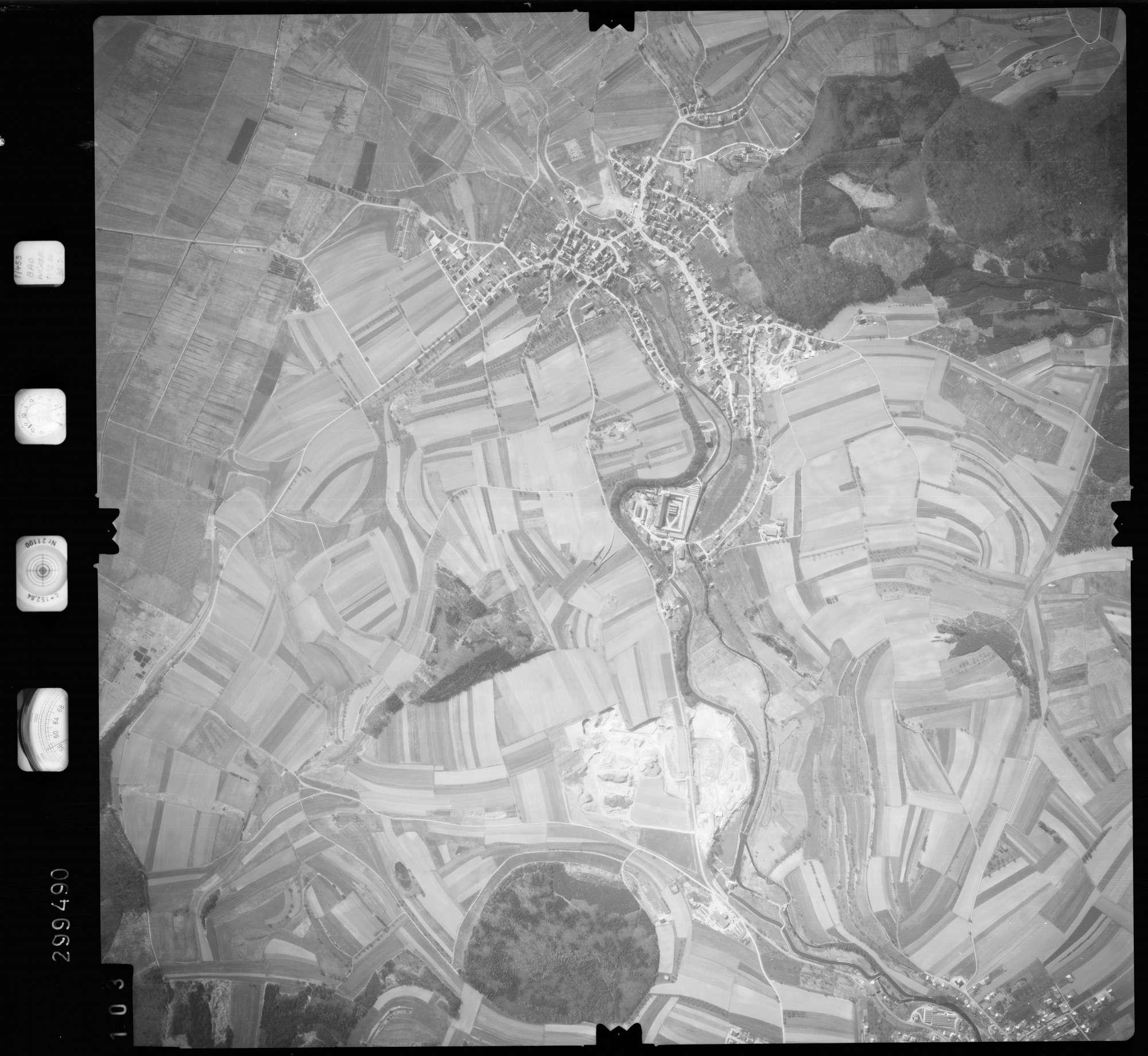 Luftbild: Film 66 Bildnr. 103, Bild 1