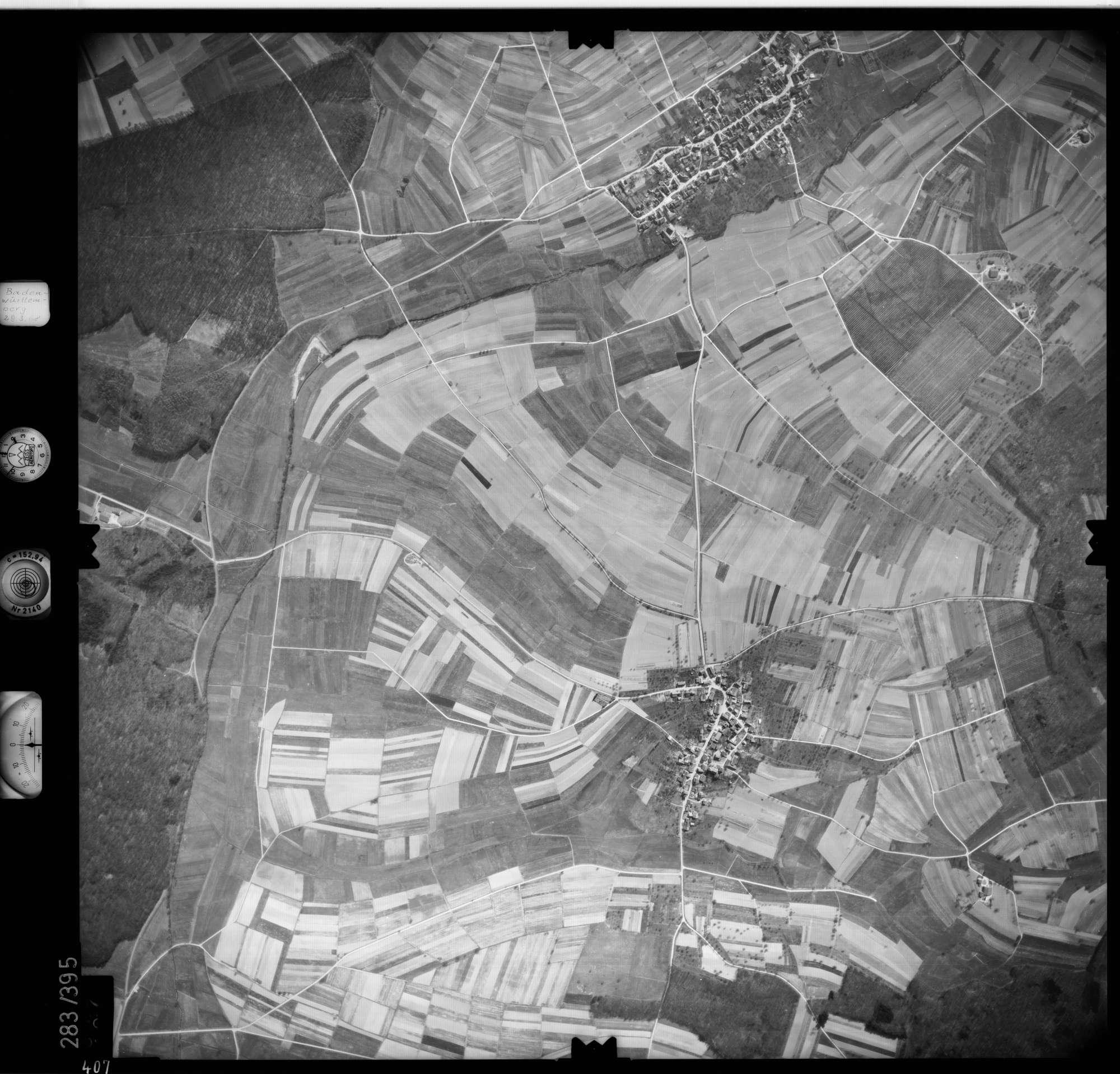Luftbild: Film 71 Bildnr. 407, Bild 1