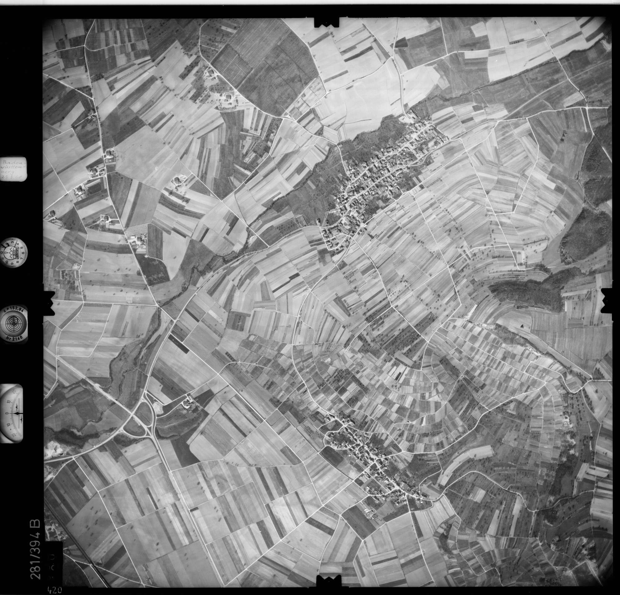 Luftbild: Film 71 Bildnr. 420, Bild 1