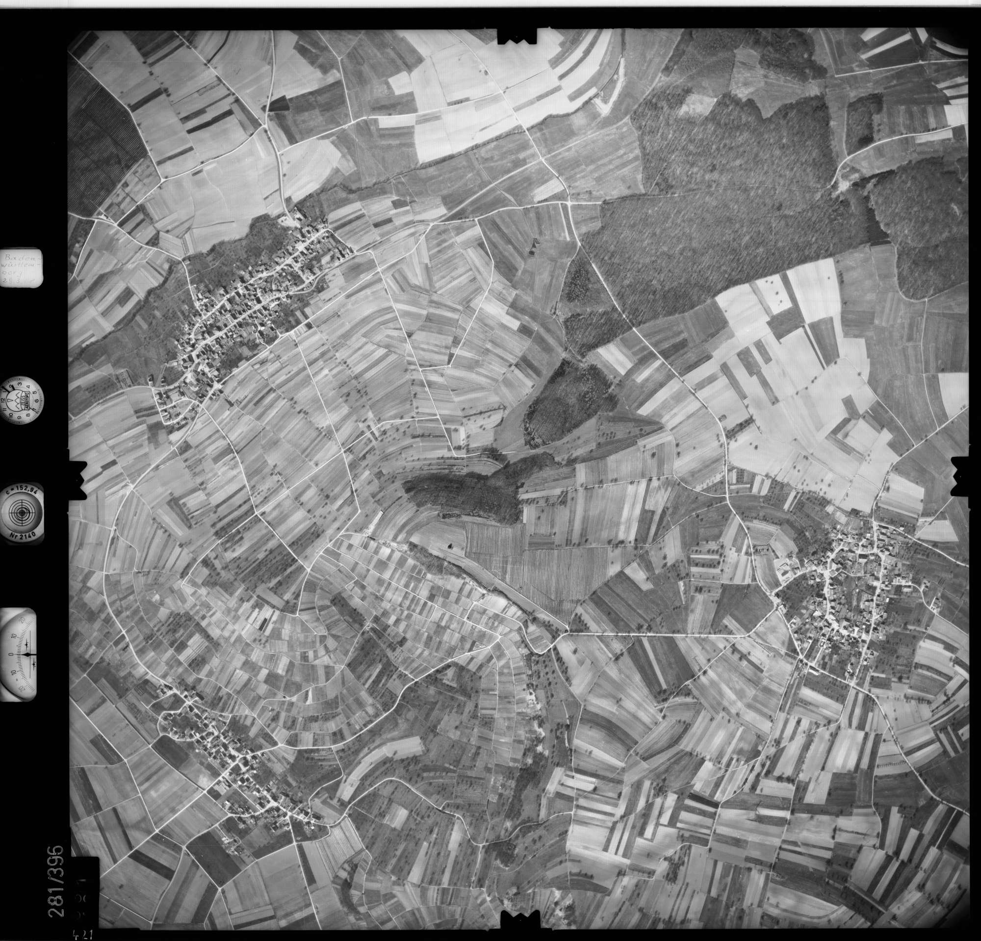 Luftbild: Film 71 Bildnr. 421, Bild 1