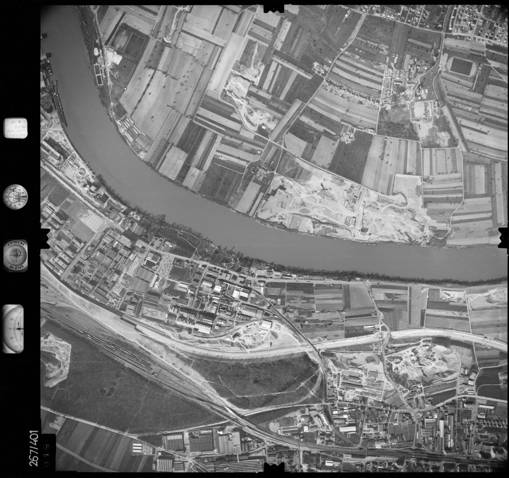 Luftbild: Film 83 Bildnr. 19, Bild 1