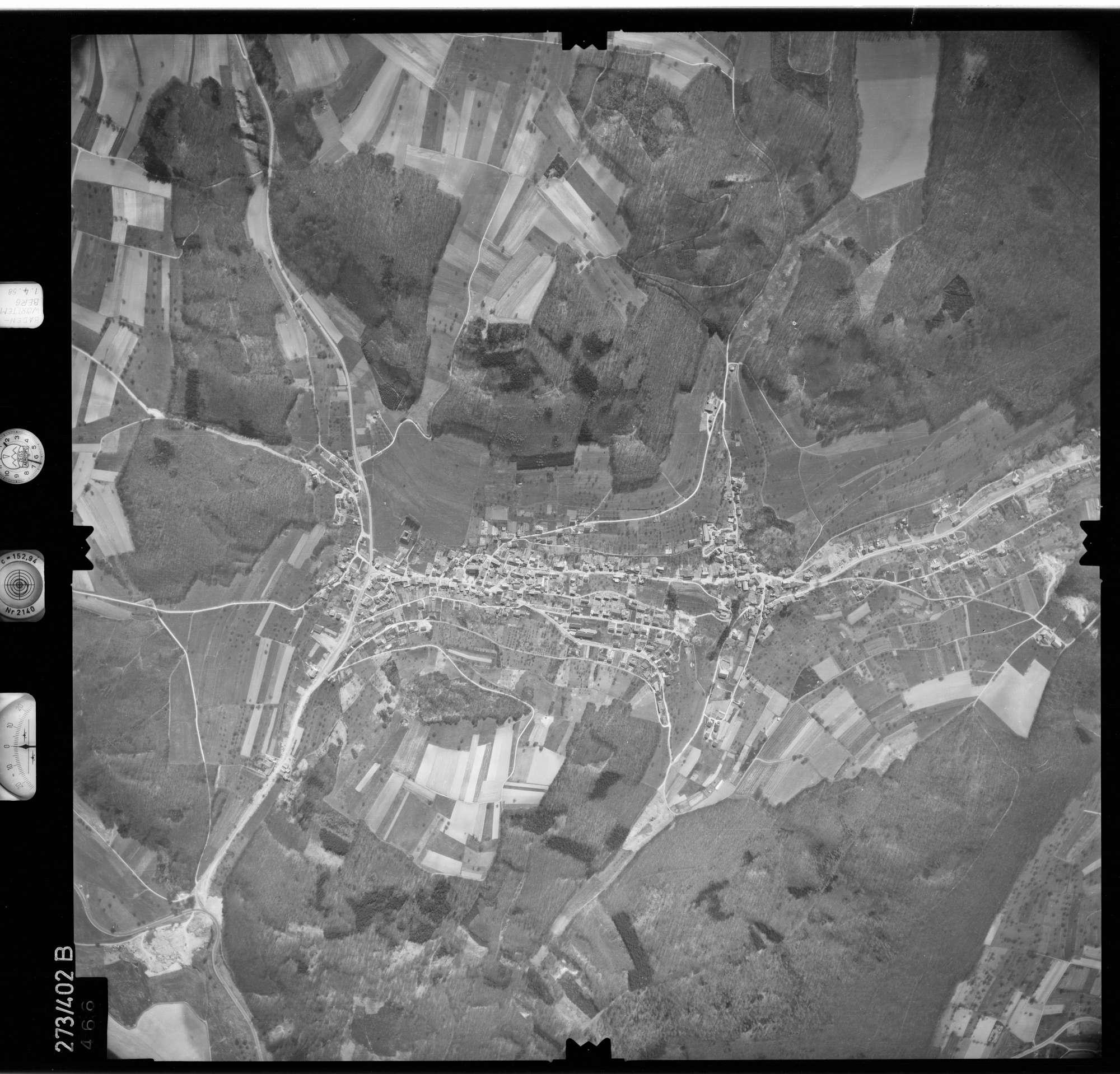 Luftbild: Film 81 Bildnr. 466, Bild 1