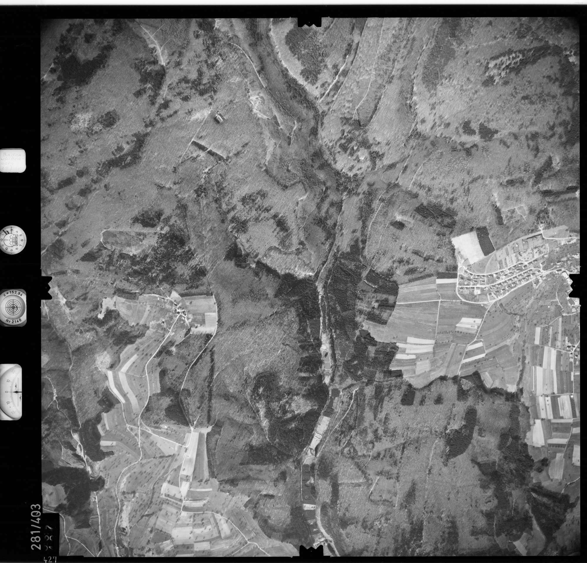 Luftbild: Film 71 Bildnr. 427, Bild 1