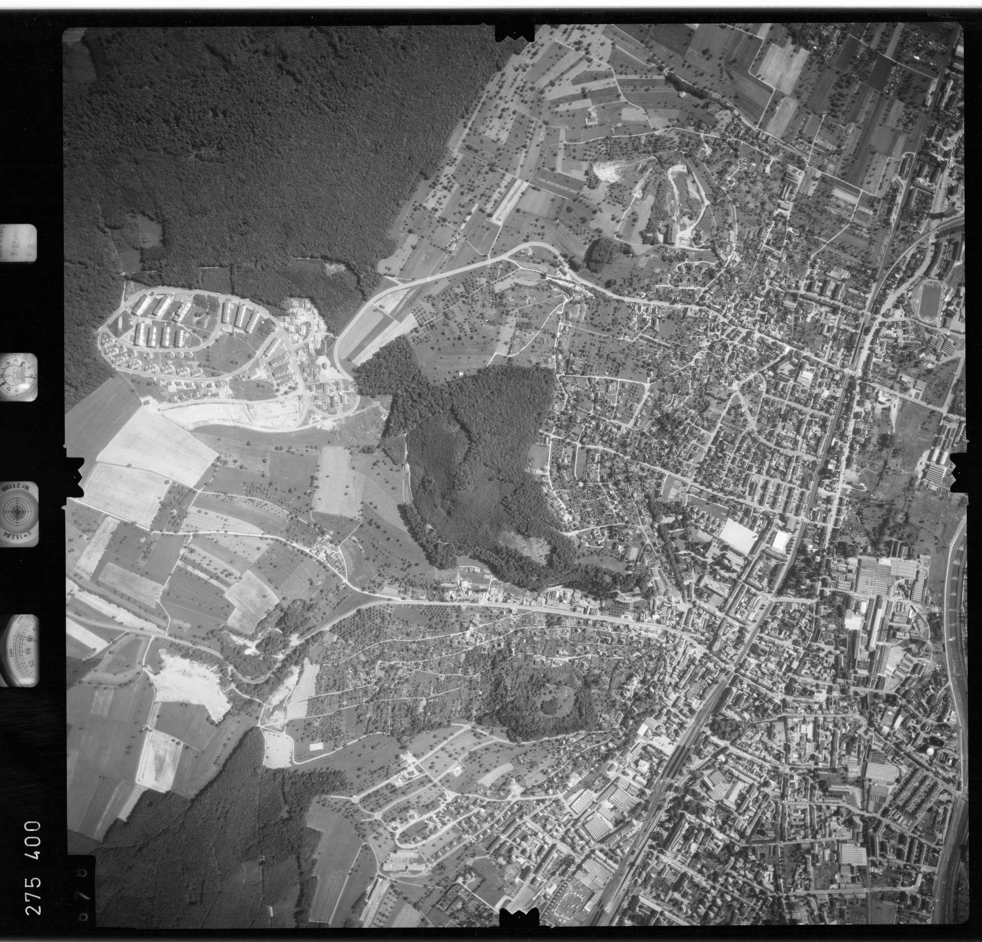 Luftbild: Film 77 Bildnr. 678, Bild 1