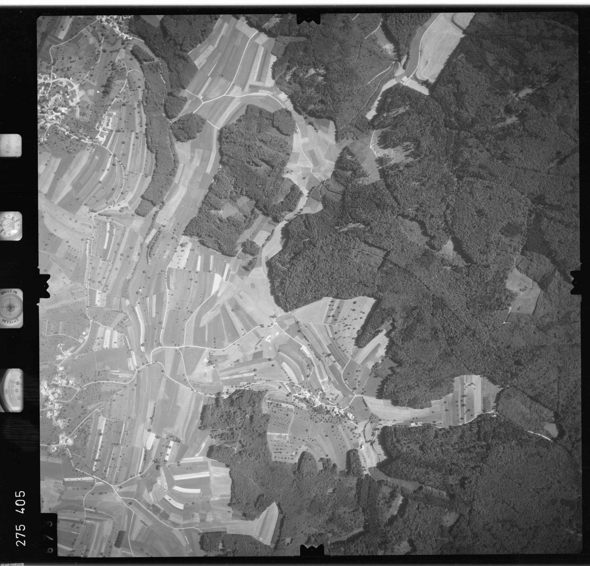 Luftbild: Film 77 Bildnr. 673, Bild 1