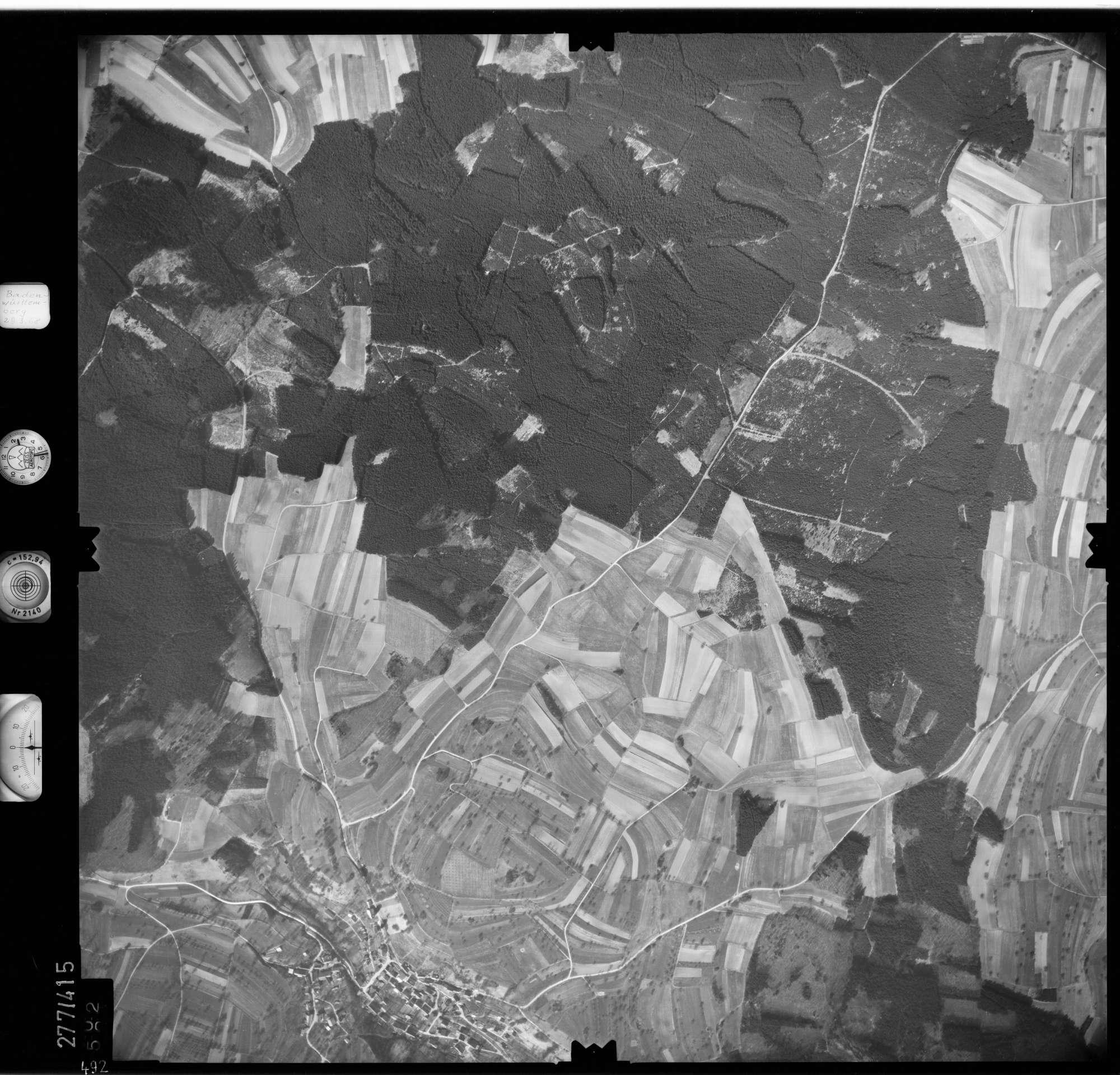Luftbild: Film 71 Bildnr. 492, Bild 1