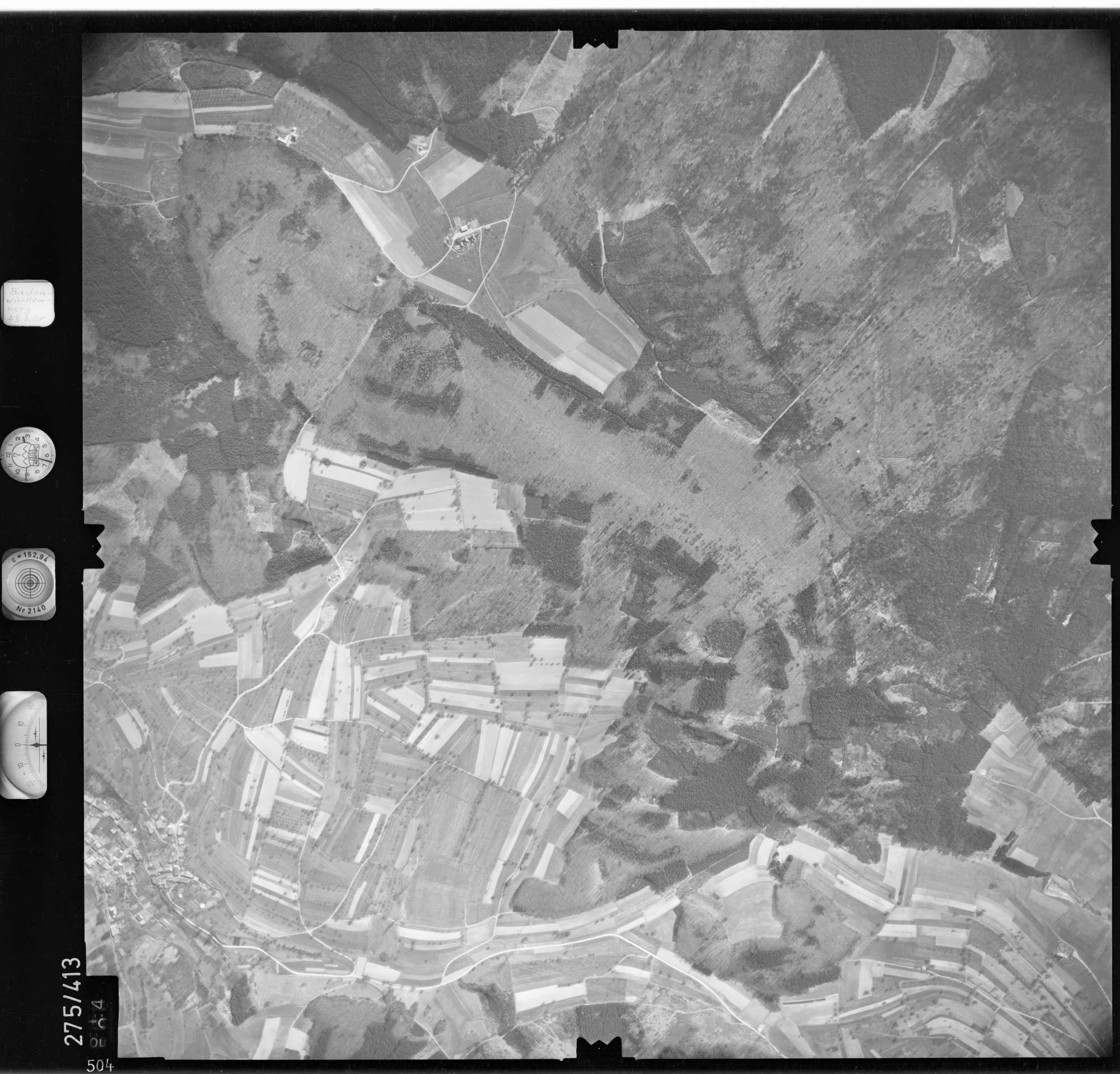 Luftbild: Film 71 Bildnr. 504, Bild 1