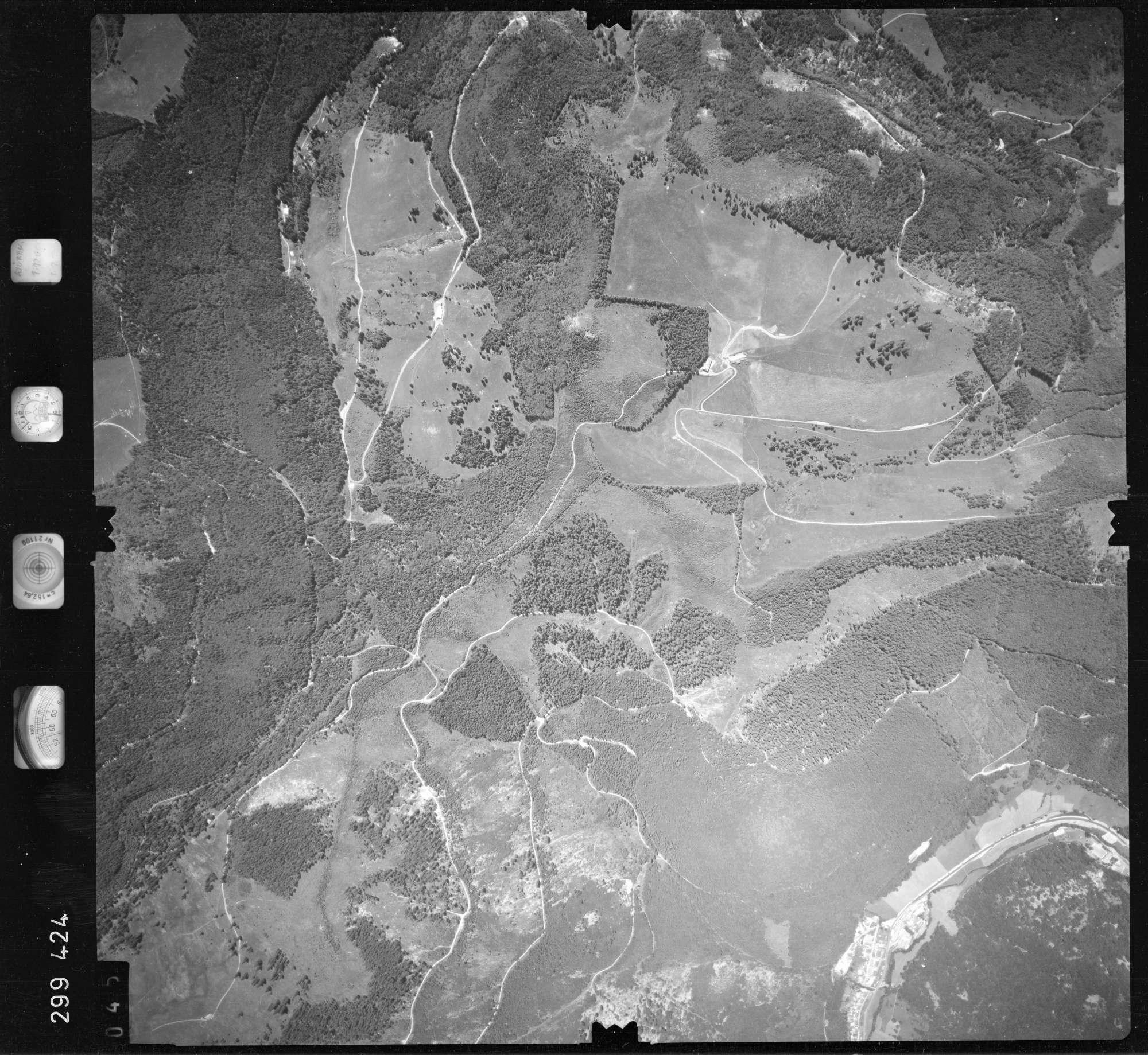 Luftbild: Film 55 Bildnr. 45, Bild 1