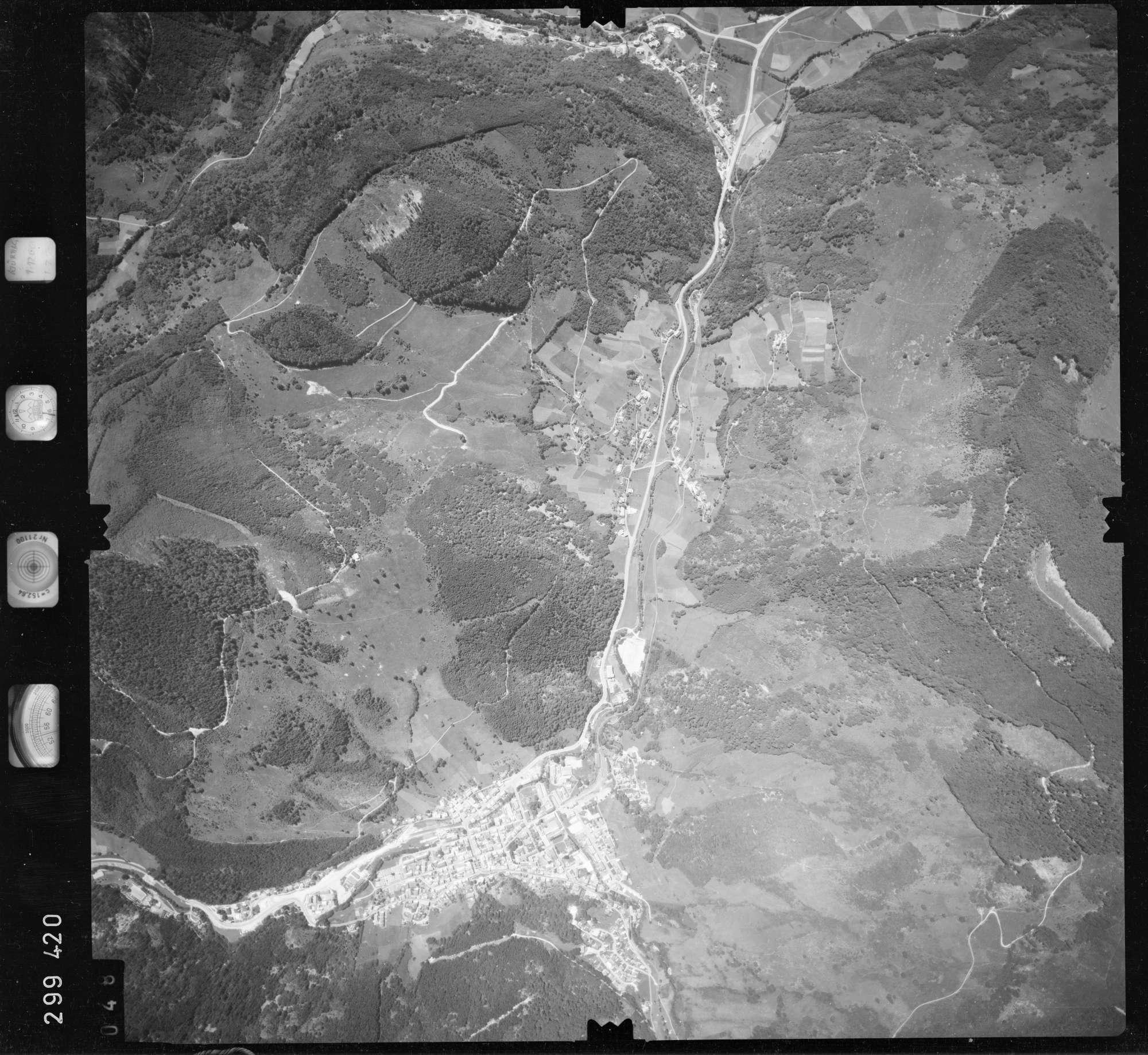 Luftbild: Film 55 Bildnr. 48, Bild 1