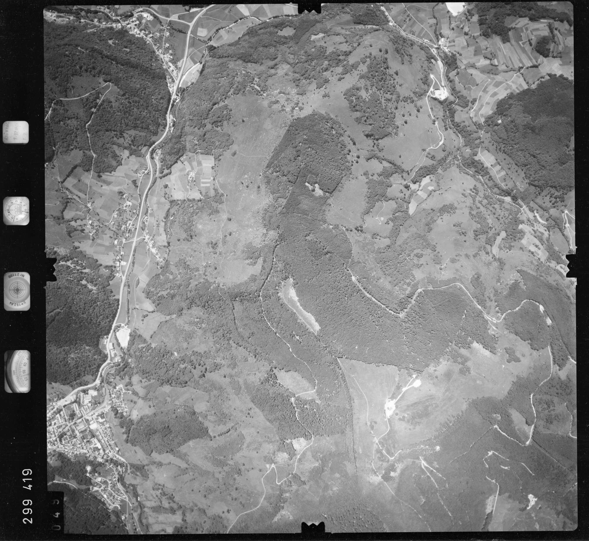 Luftbild: Film 55 Bildnr. 49, Bild 1