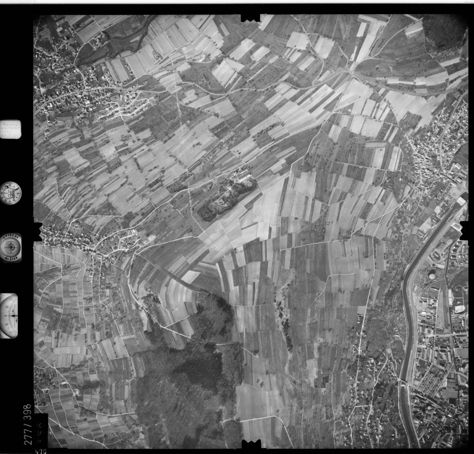 Luftbild: Film 71 Bildnr. 476, Bild 1