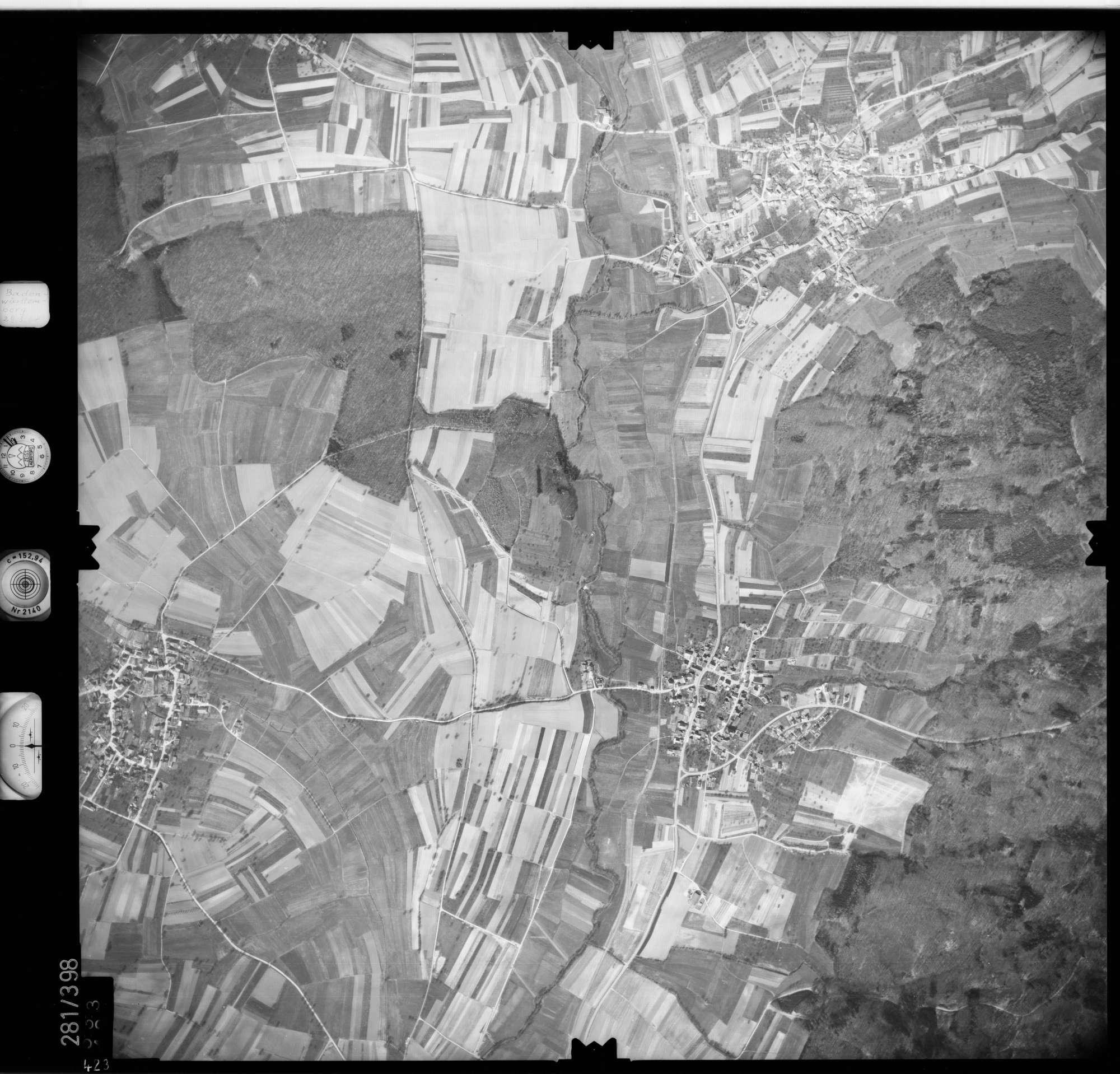 Luftbild: Film 71 Bildnr. 423, Bild 1