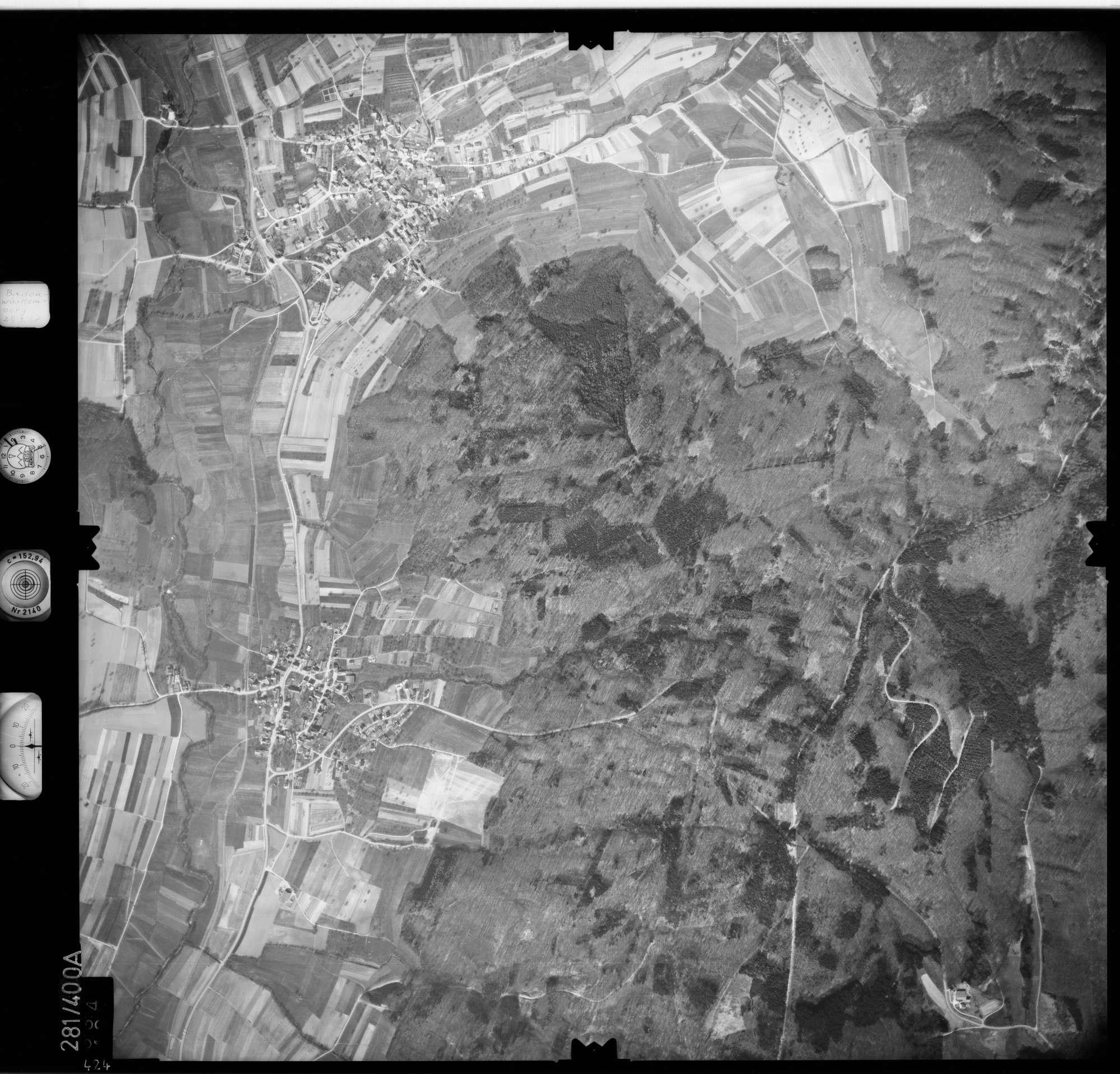 Luftbild: Film 71 Bildnr. 424, Bild 1