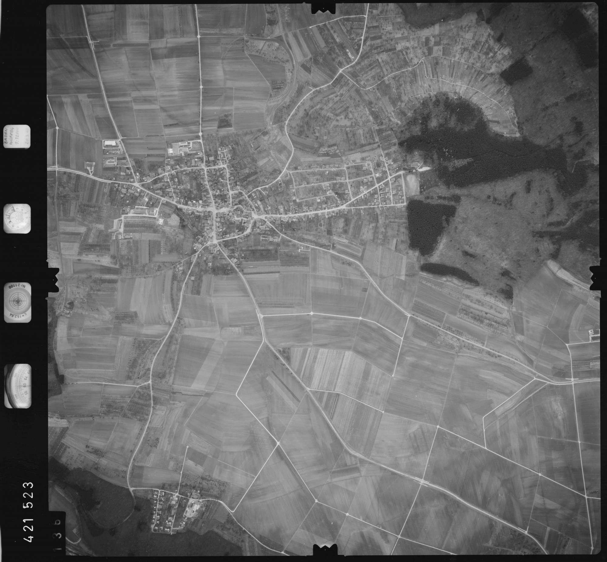Luftbild: Film 1 Bildnr. 136, Bild 1