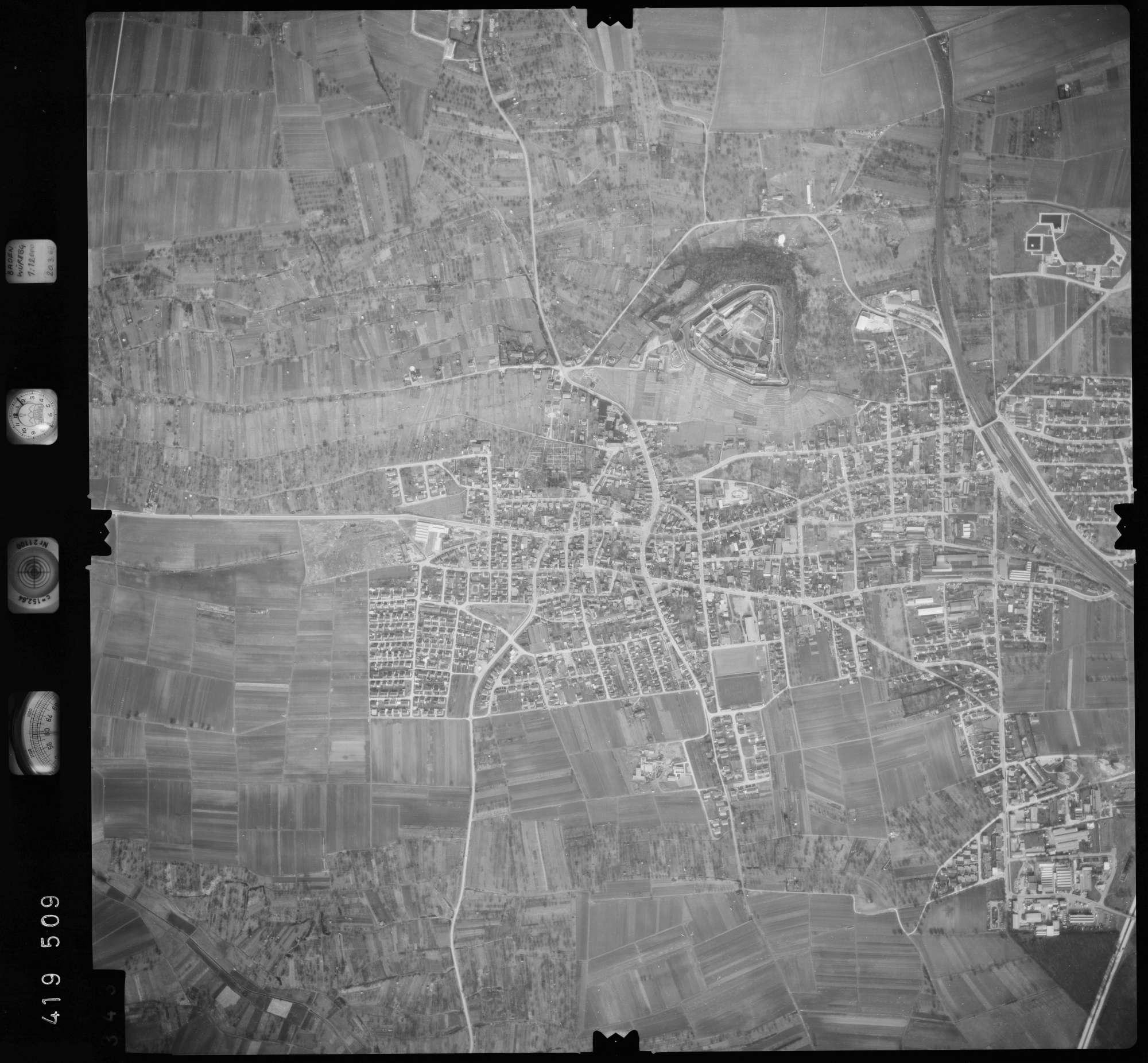 Luftbild: Film 2 Bildnr. 343, Bild 1
