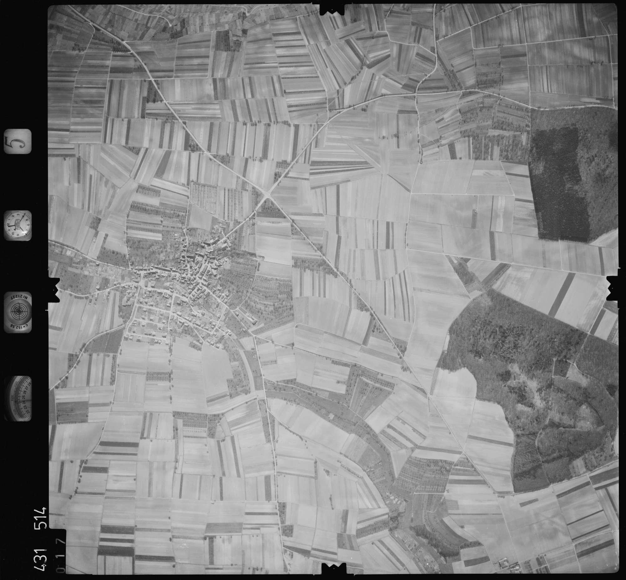 Luftbild: Film 5 Bildnr. 17, Bild 1