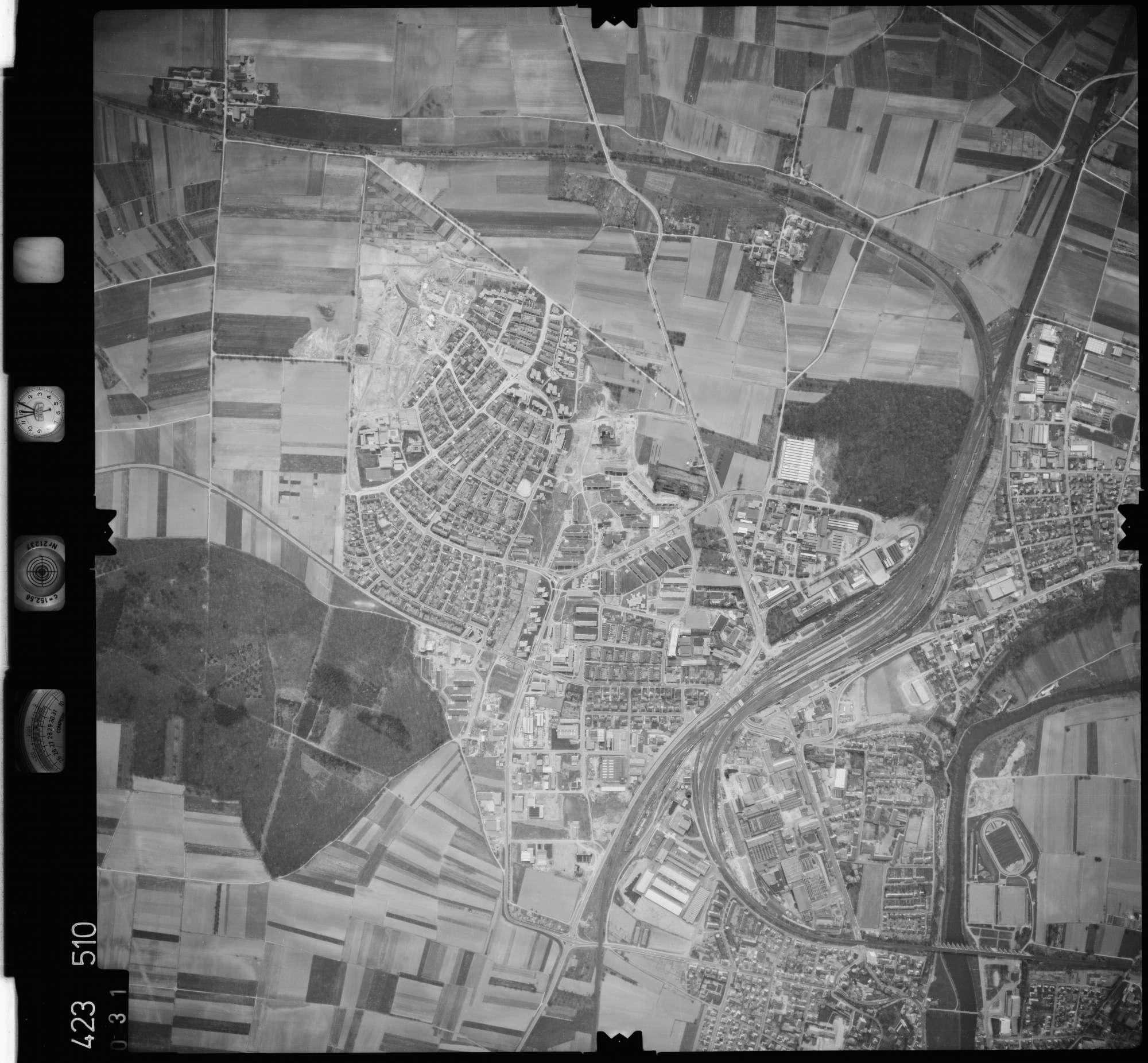 Luftbild: Film 1 Bildnr. 31, Bild 1