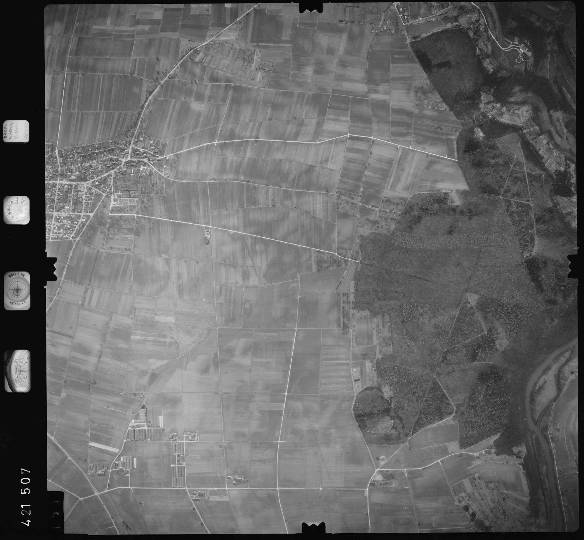 Luftbild: Film 1 Bildnr. 151, Bild 1