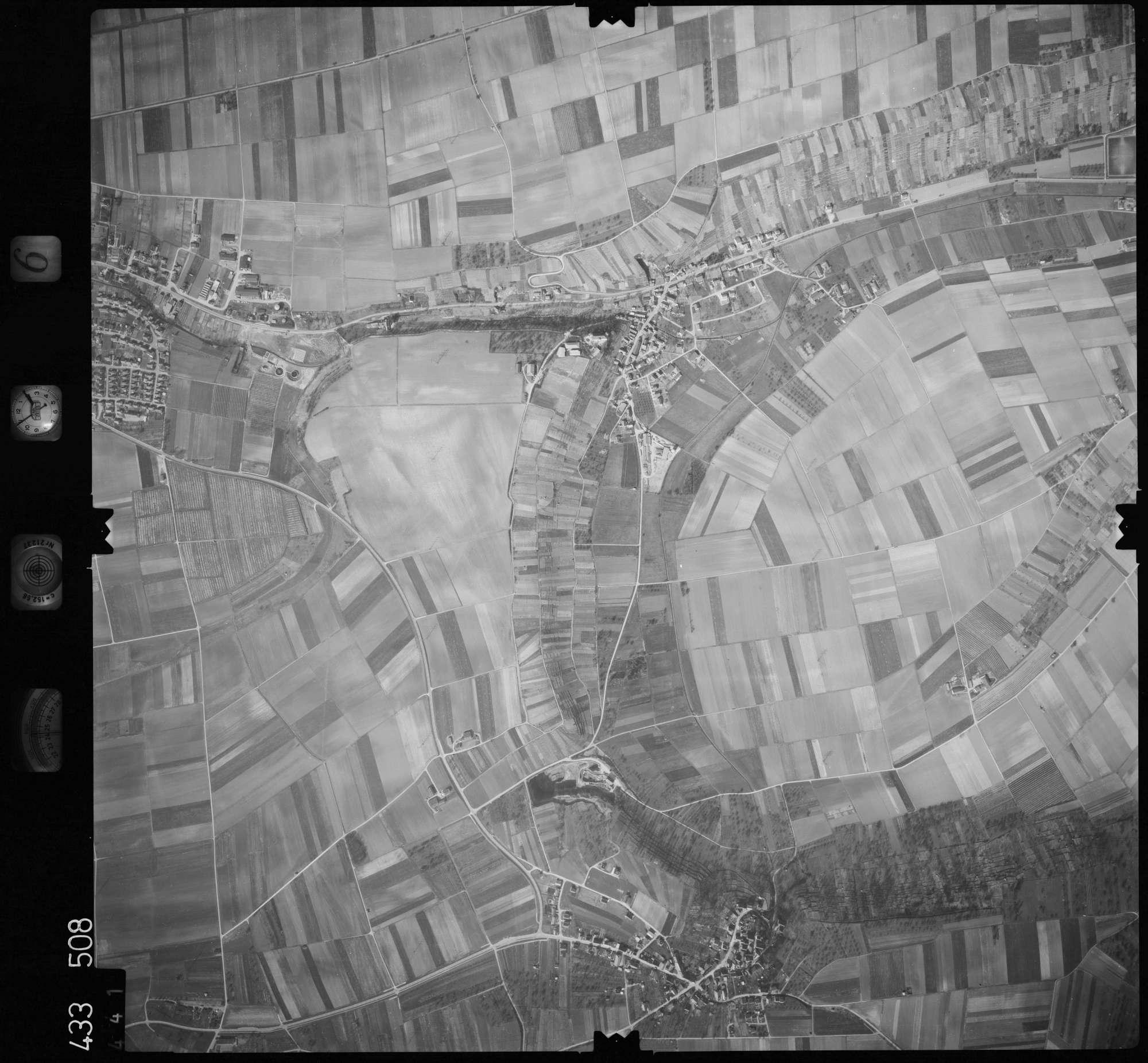 Luftbild: Film 6 Bildnr. 441, Bild 1