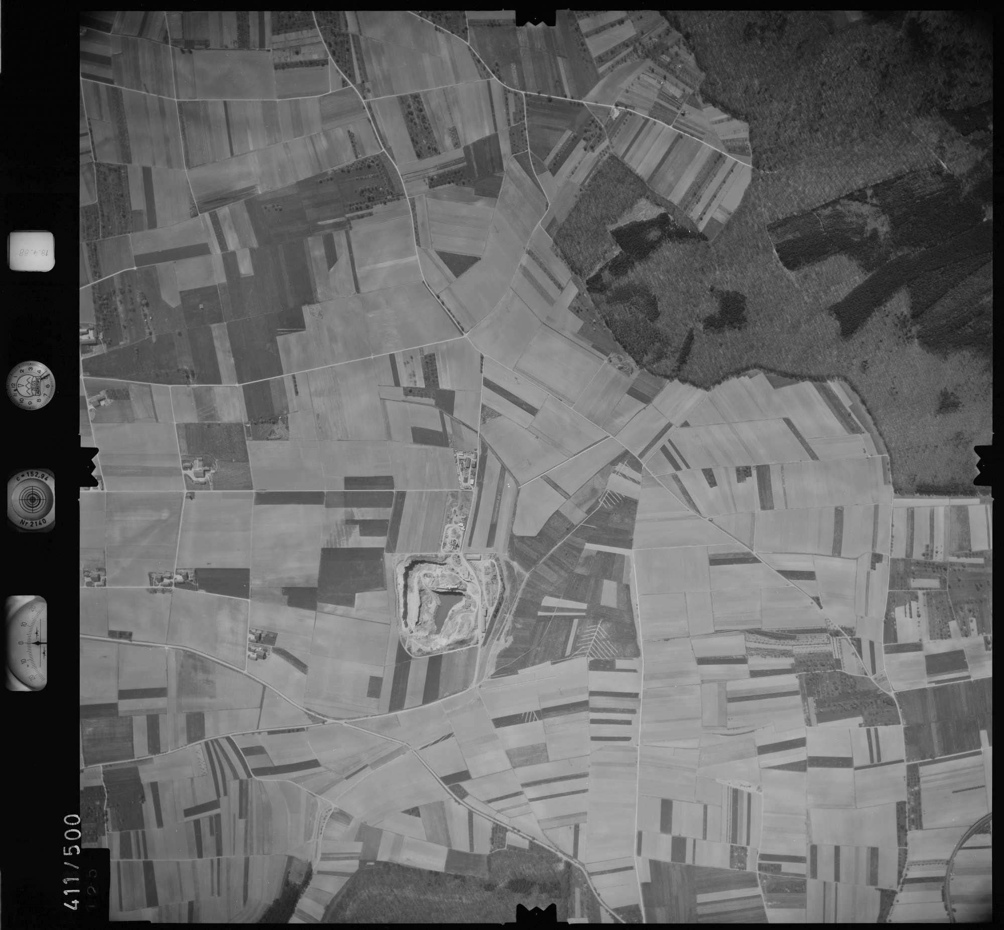 Luftbild: Film 4 Bildnr. 125, Bild 1