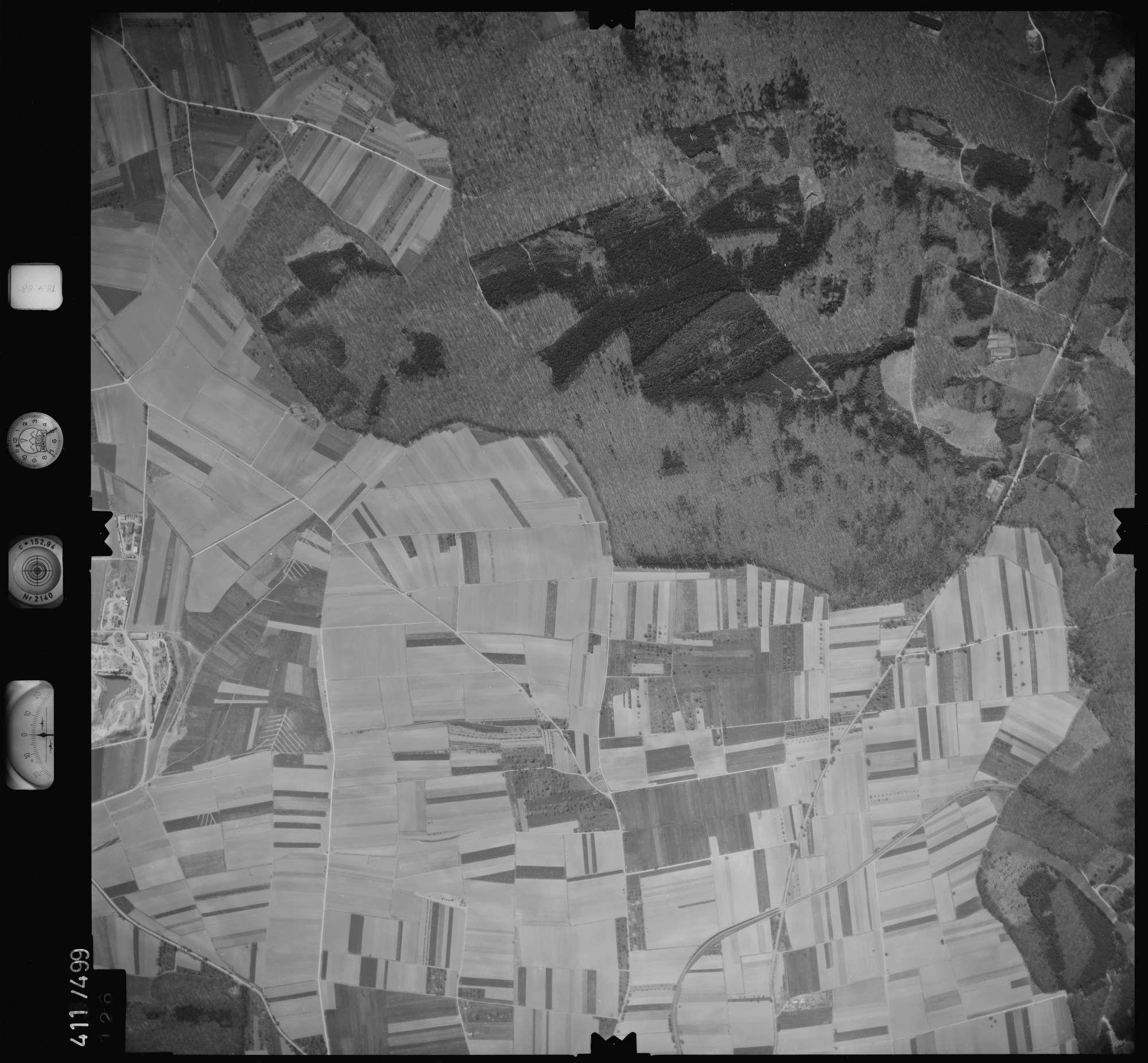 Luftbild: Film 4 Bildnr. 126, Bild 1