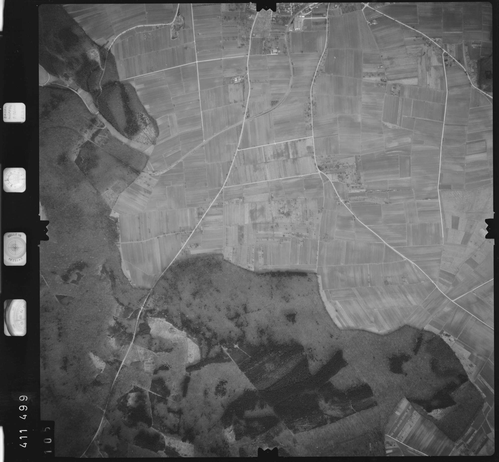 Luftbild: Film 5 Bildnr. 105, Bild 1