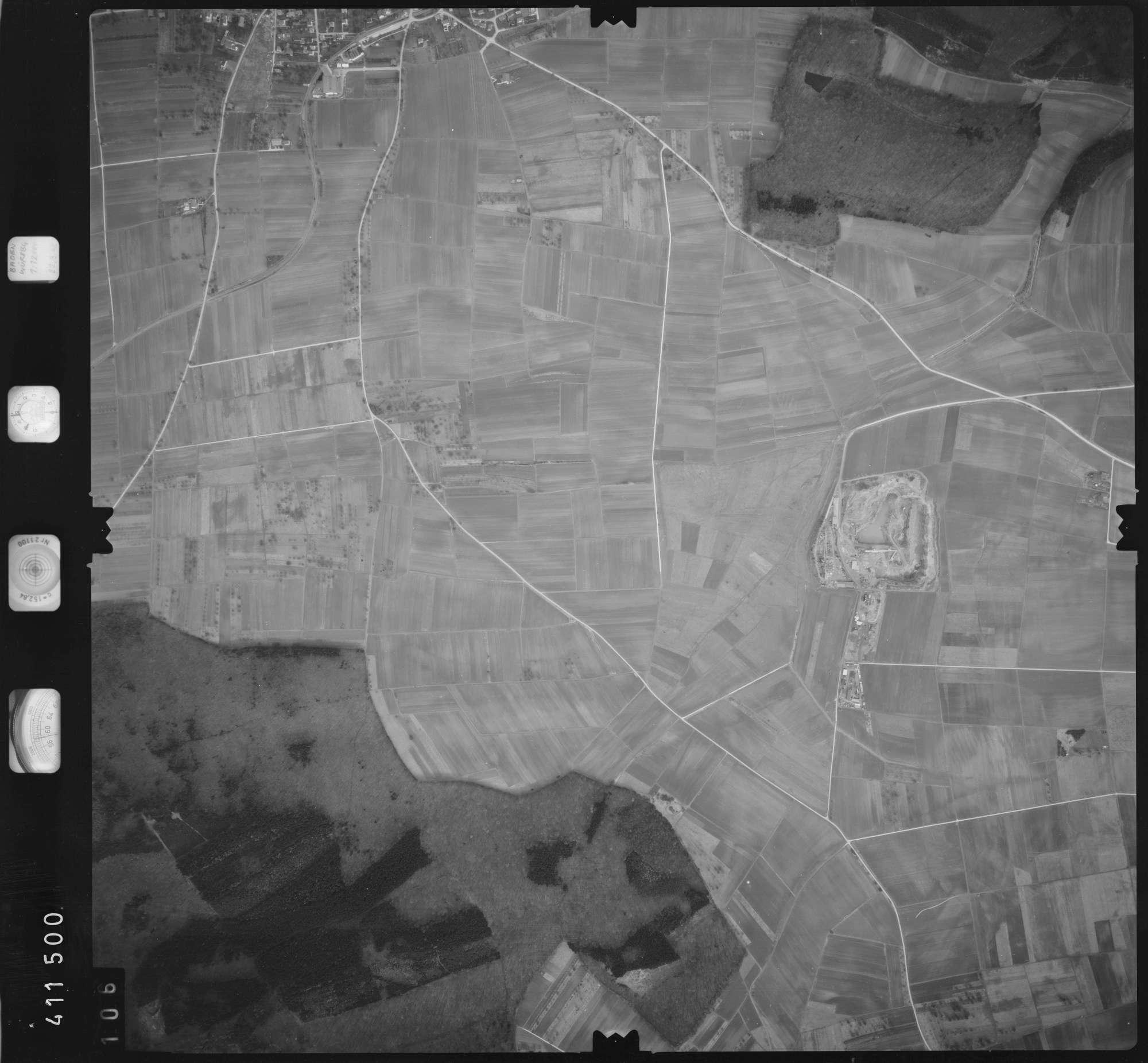 Luftbild: Film 5 Bildnr. 106, Bild 1