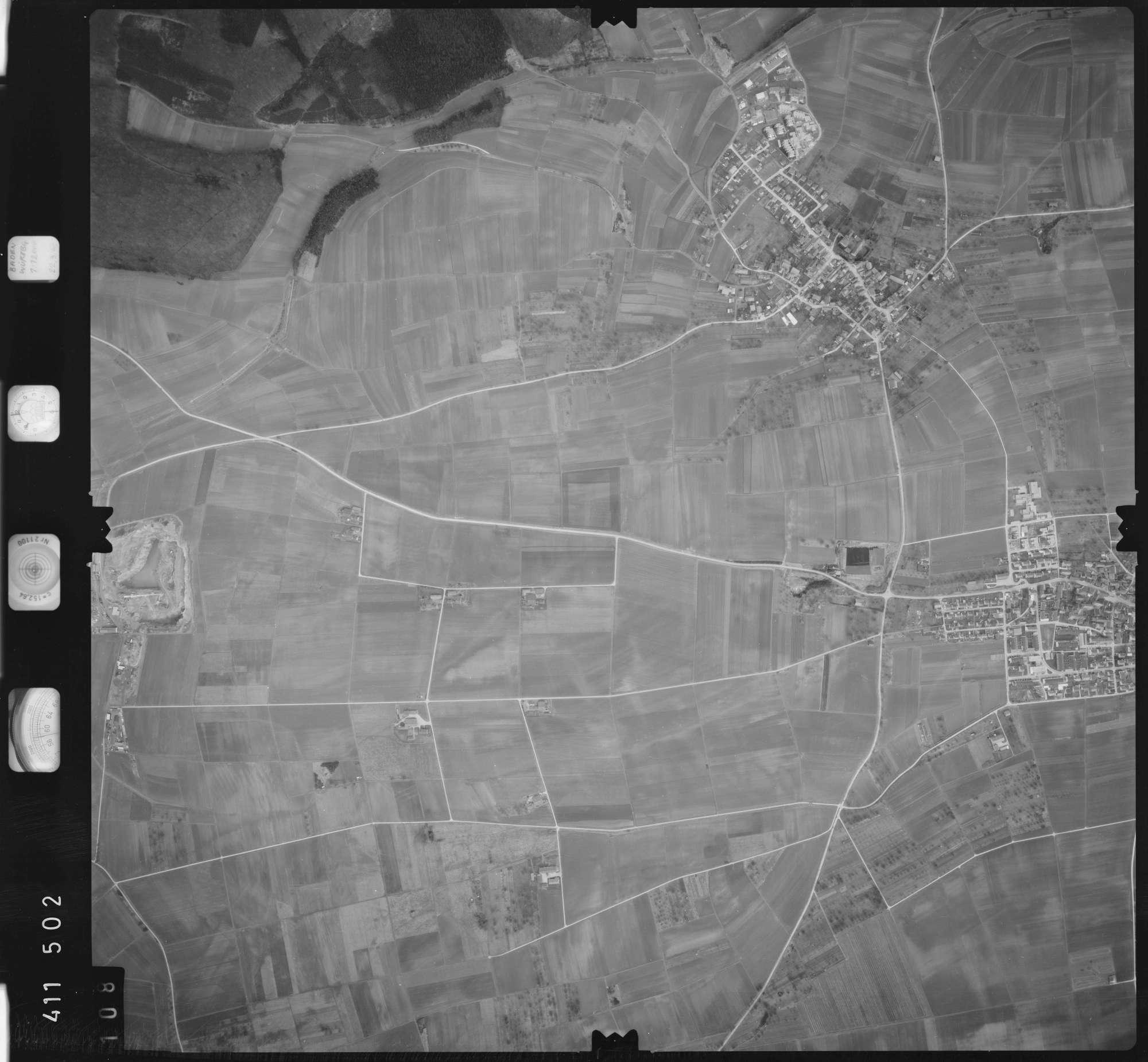 Luftbild: Film 5 Bildnr. 108, Bild 1