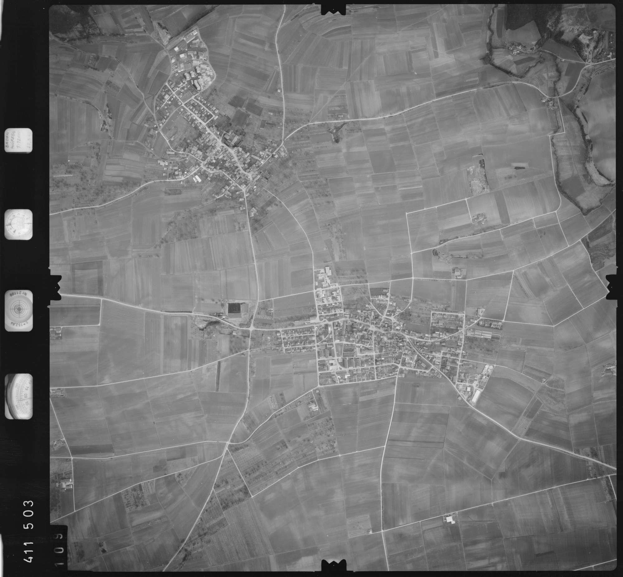 Luftbild: Film 5 Bildnr. 109, Bild 1