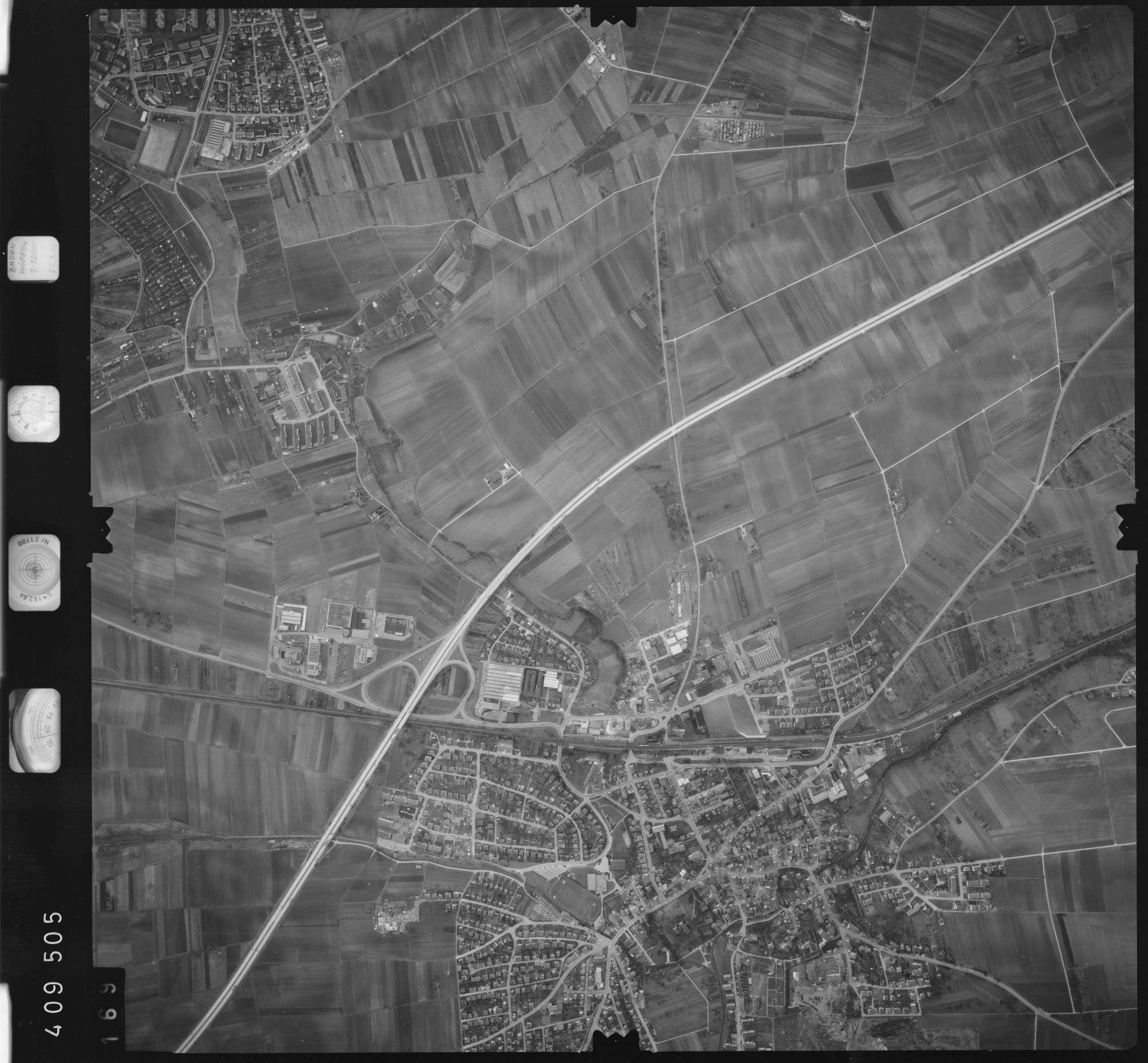 Luftbild: Film 5 Bildnr. 169, Bild 1