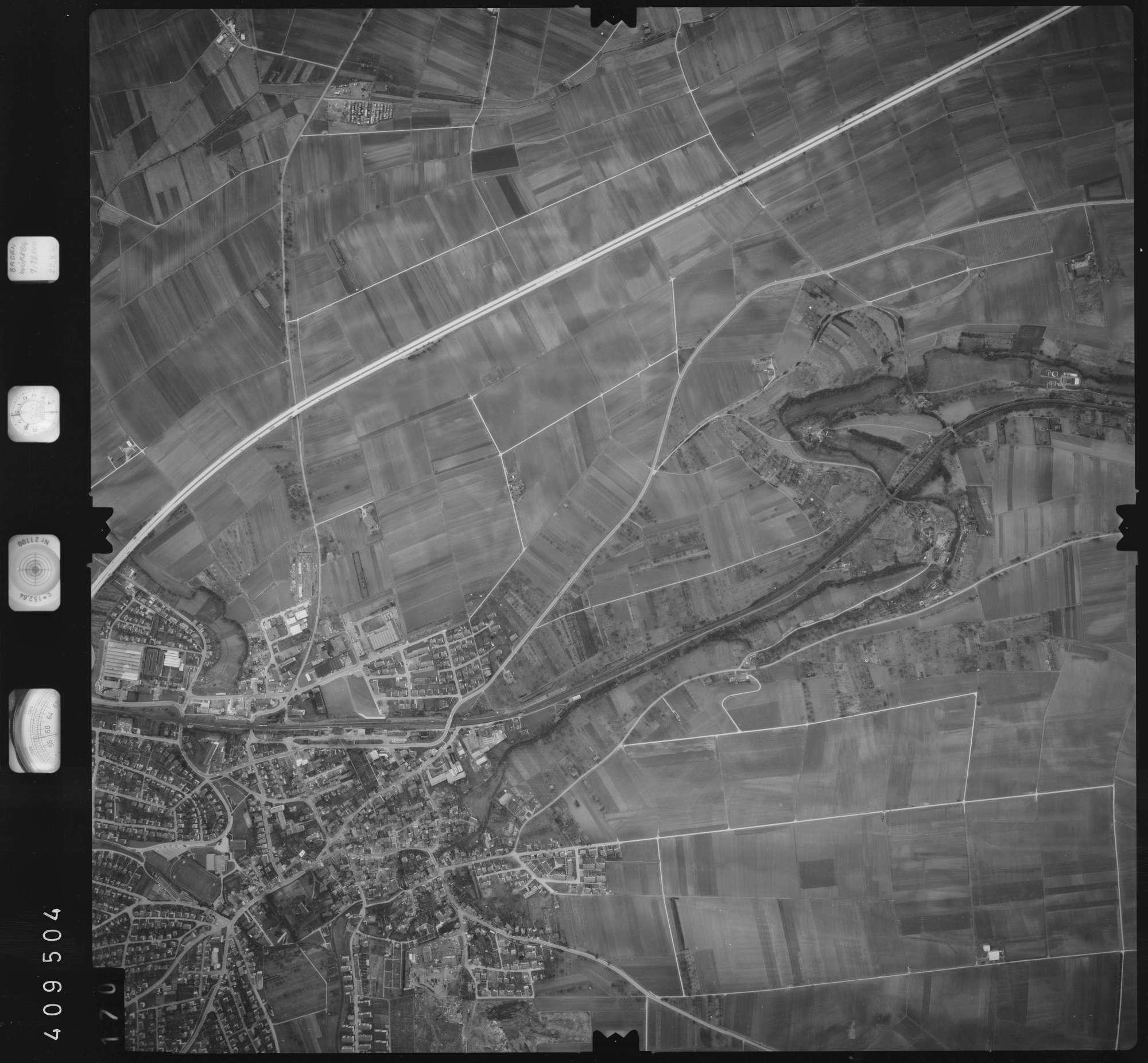 Luftbild: Film 5 Bildnr. 170, Bild 1