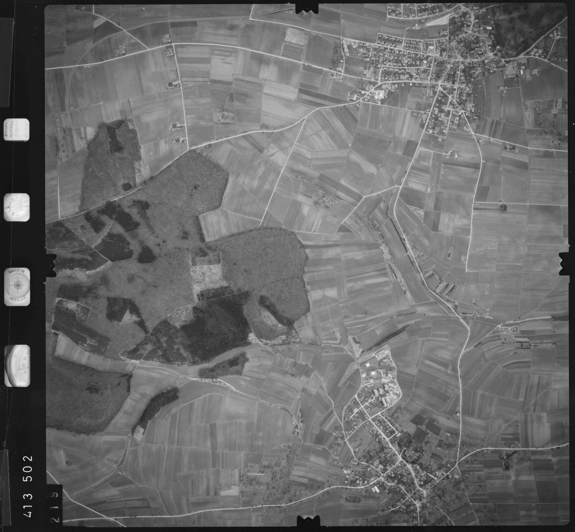 Luftbild: Film 5 Bildnr. 219, Bild 1