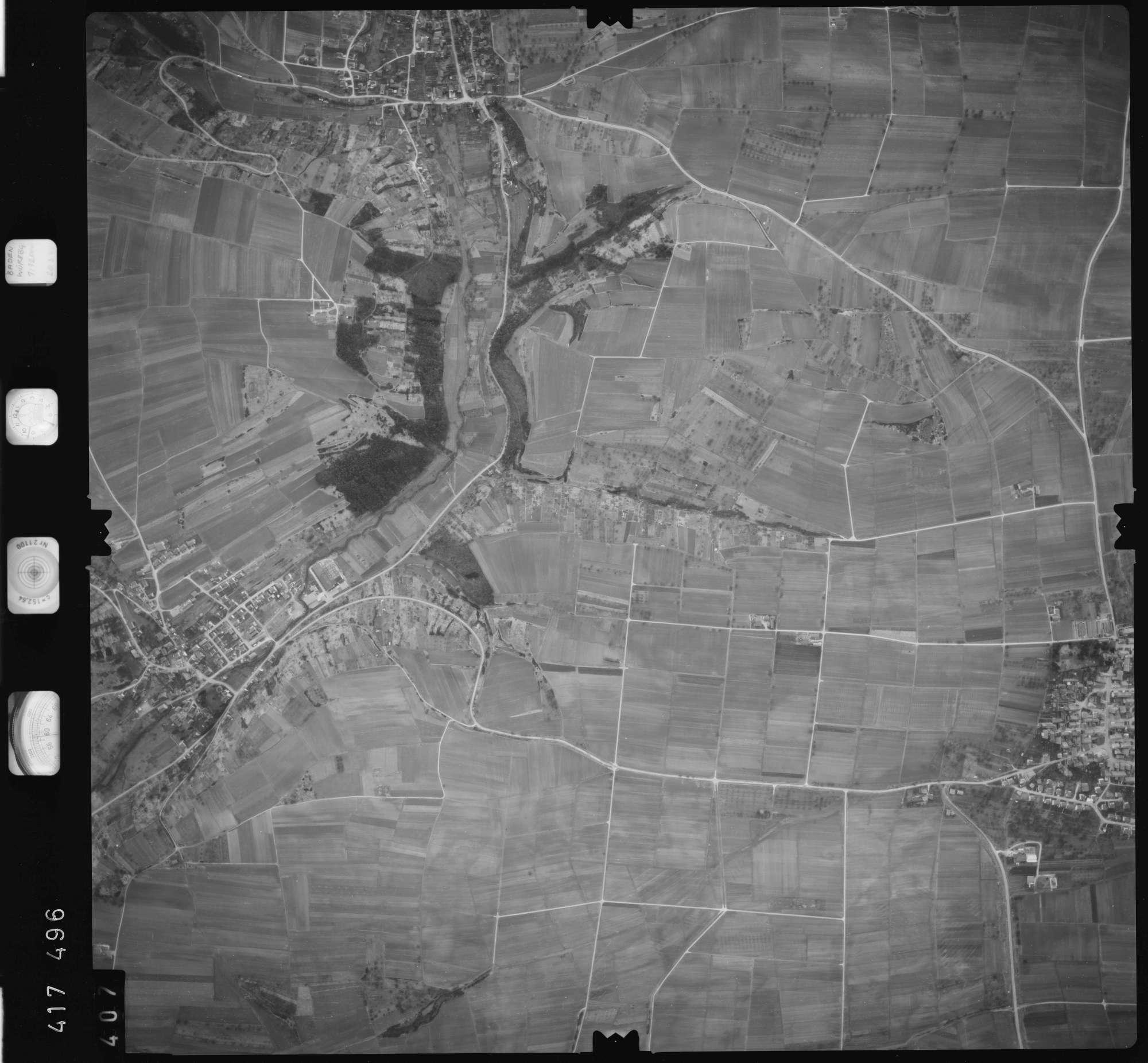 Luftbild: Film 2 Bildnr. 407, Bild 1