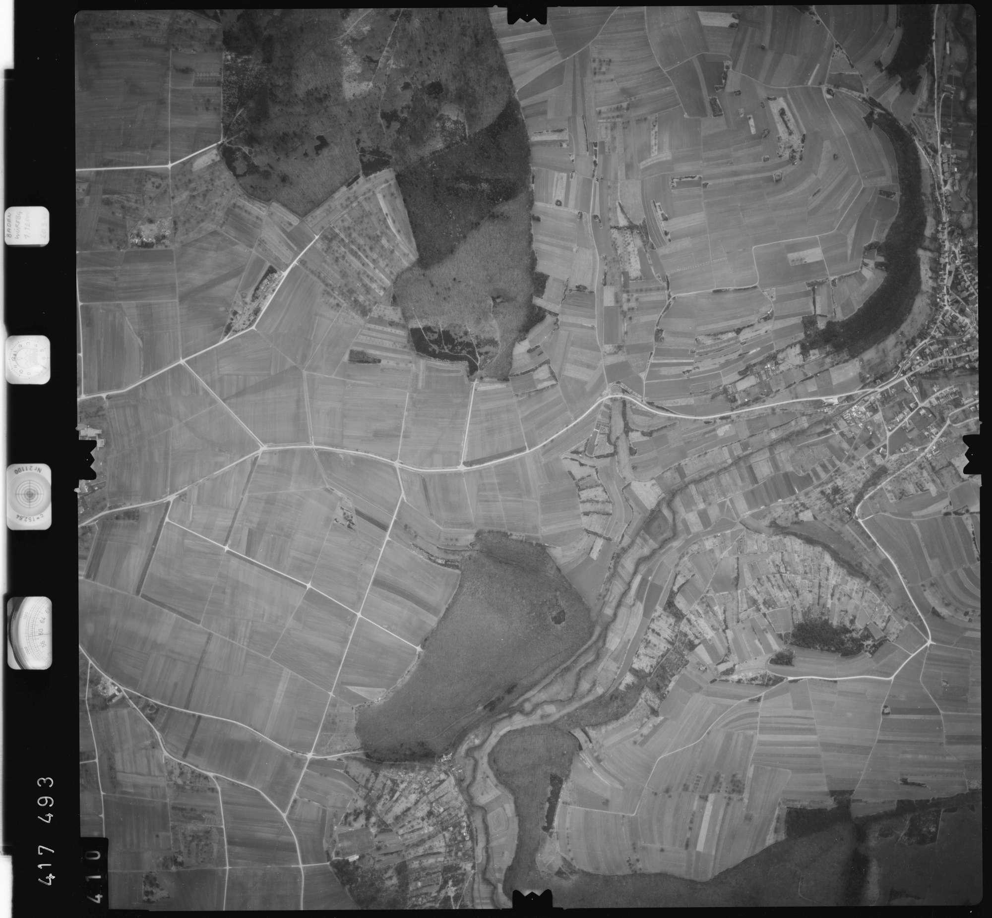 Luftbild: Film 2 Bildnr. 410, Bild 1
